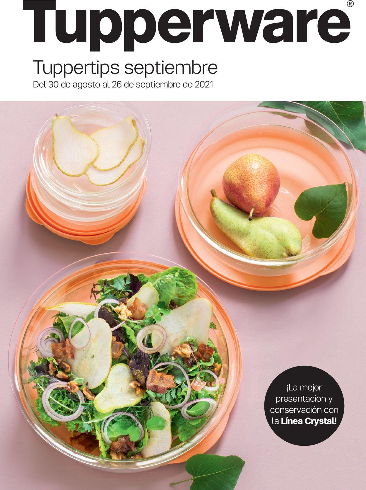 Tupperware Folleto - 30.08-26.09.2021