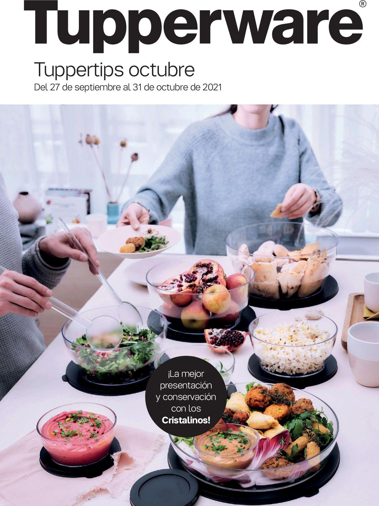 Tupperware Folleto - 27.09-31.10.2021