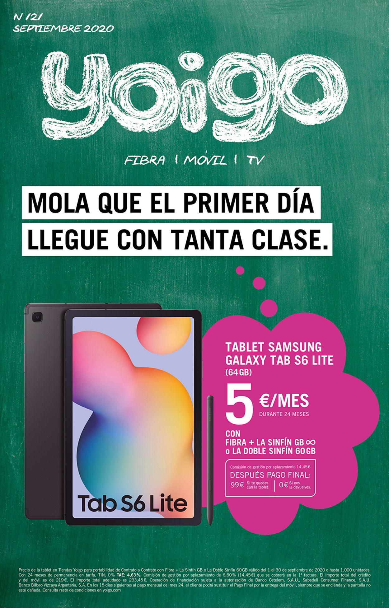 Yoigo Folleto - 01.09-30.09.2020