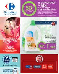 Carrefour 50% que vuelve