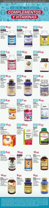 Costco Complementos y Vitaminas 2021