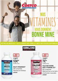 Costco Vitamines 2021
