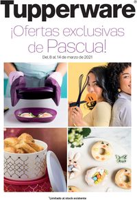 Tupperware Ofertas Exclusivas de Pascua