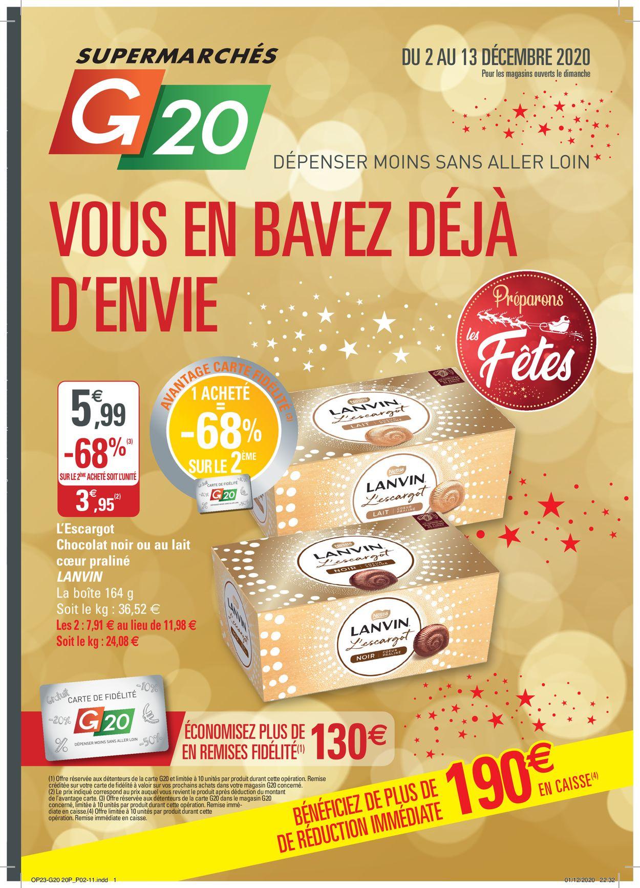 G20 Catalogue - 02.12-13.12.2020