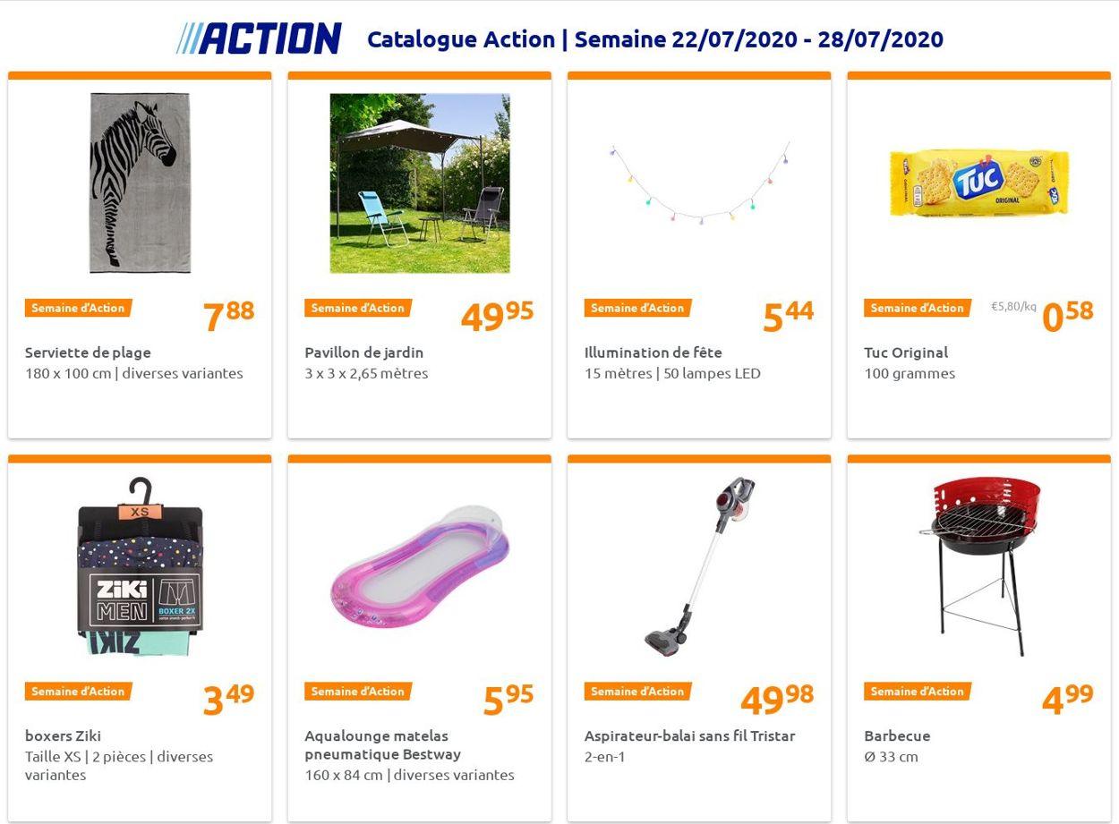 Action Catalogue - 22.07-28.07.2020