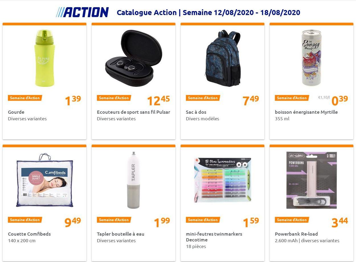Action Catalogue - 12.08-18.08.2020