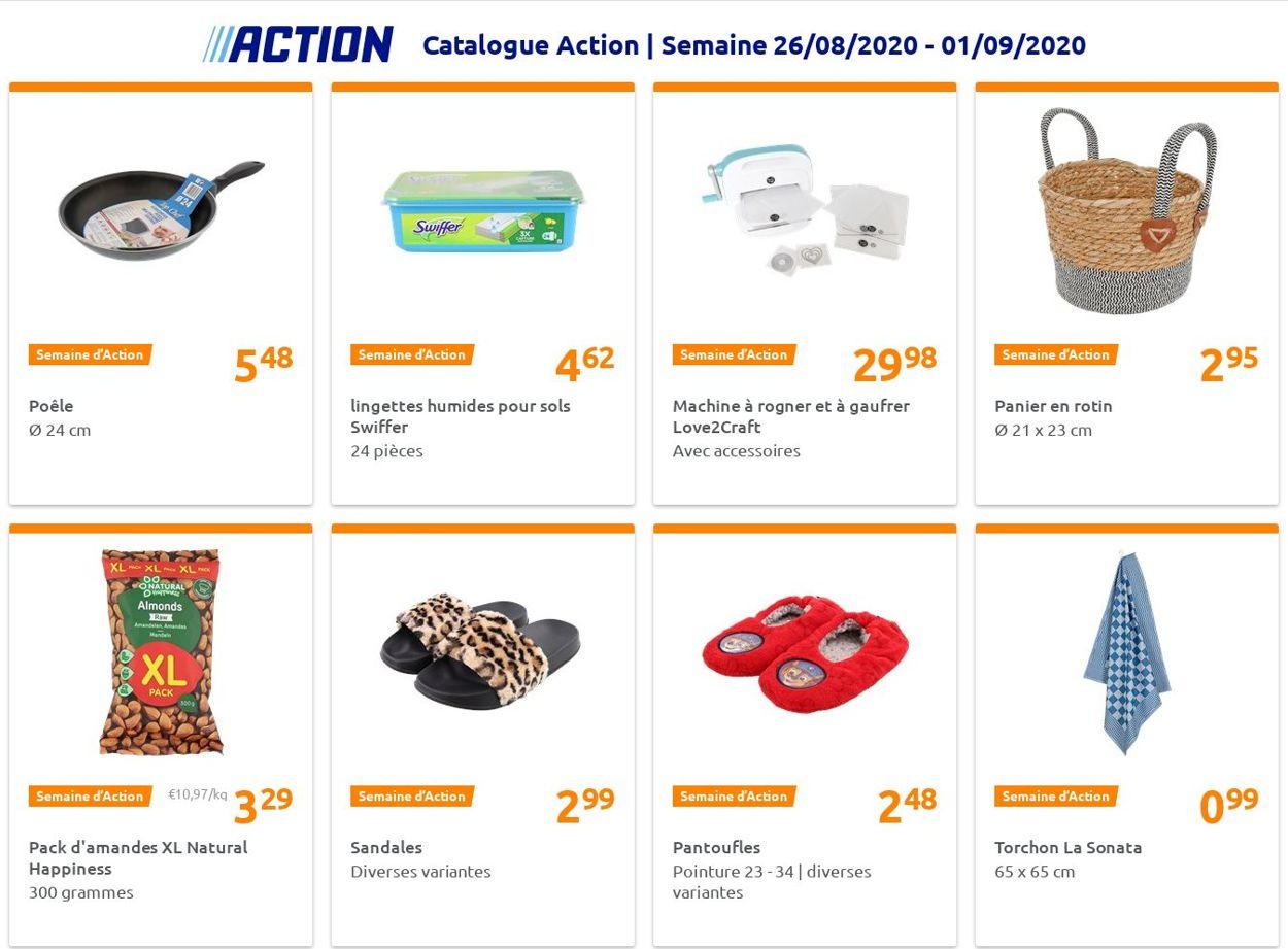 Action Catalogue - 26.08-01.09.2020