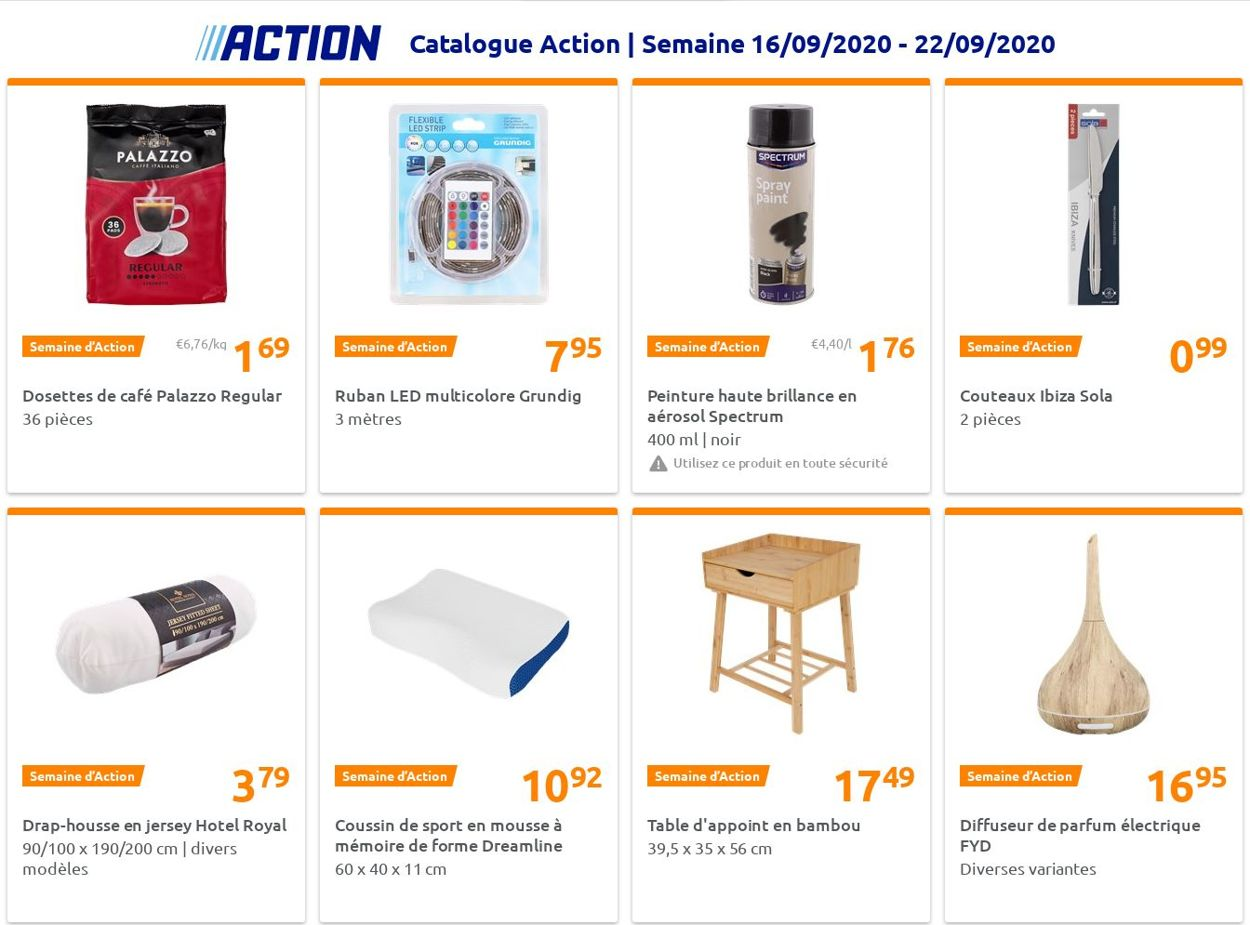 Action Catalogue - 16.09-22.09.2020