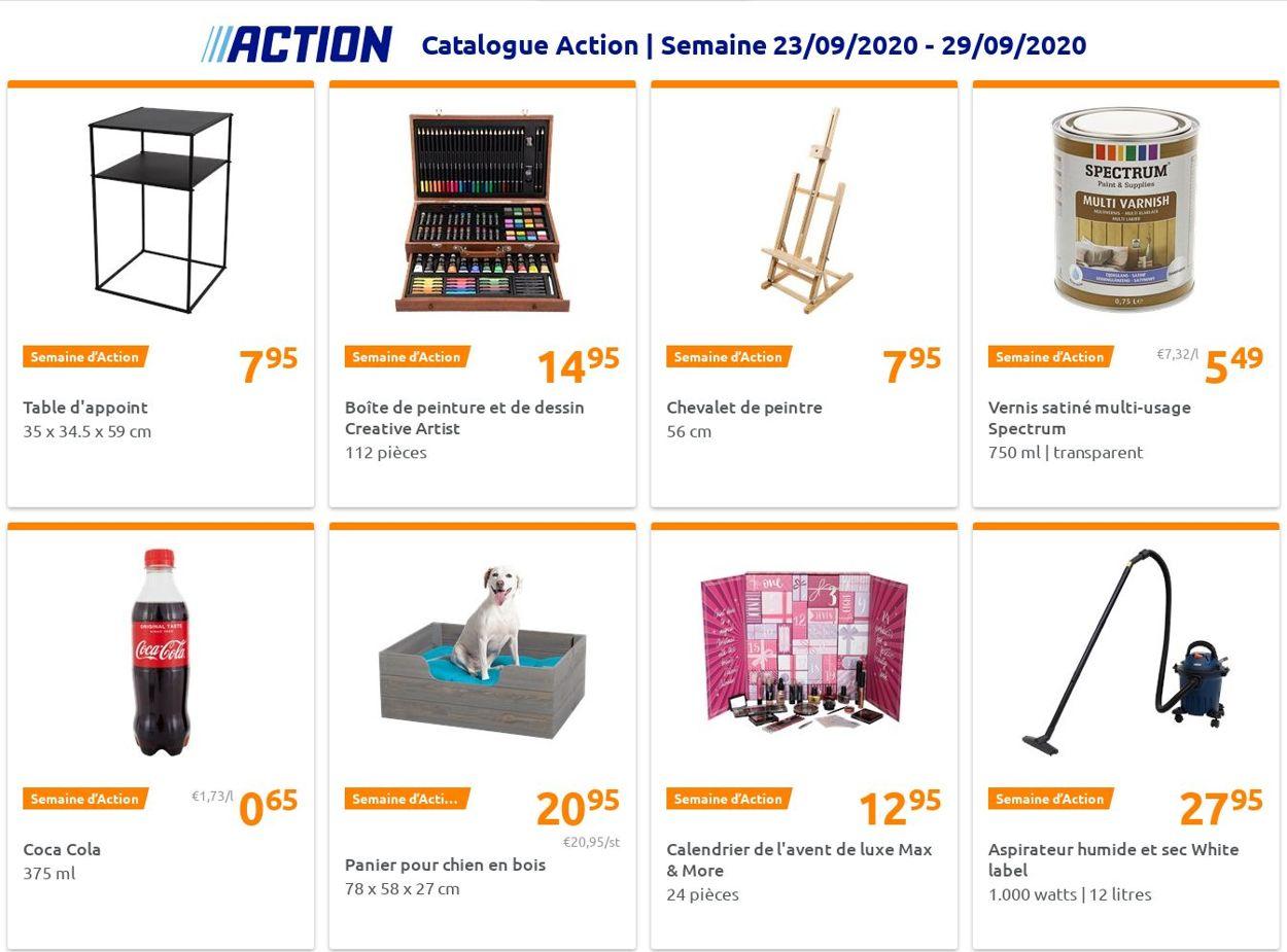 Action Catalogue - 23.09-29.09.2020