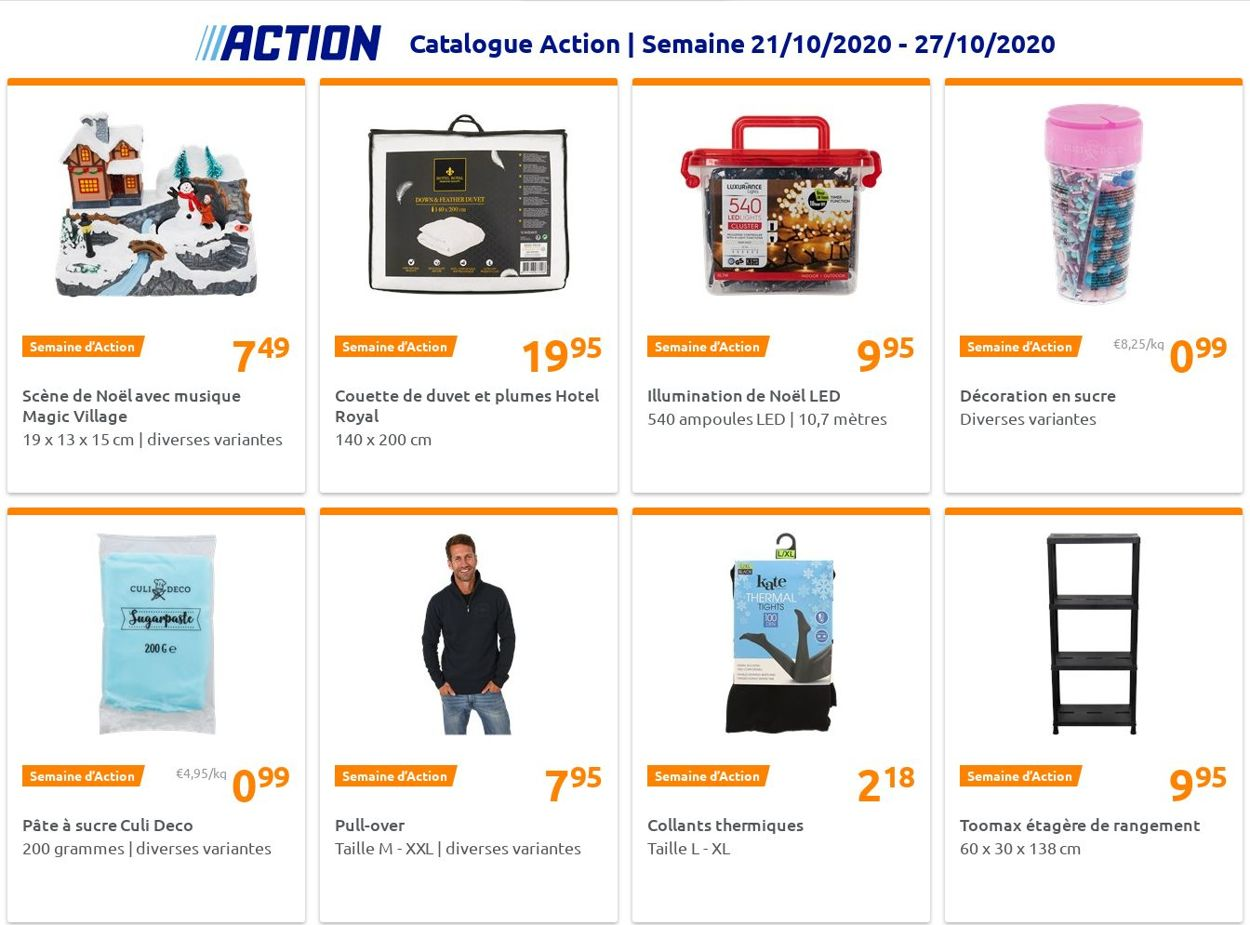 Action Catalogue - 21.10-27.10.2020