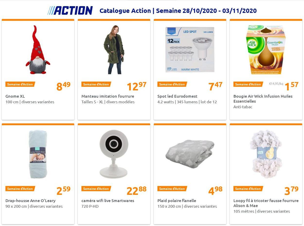 Action Catalogue - 28.10-03.11.2020