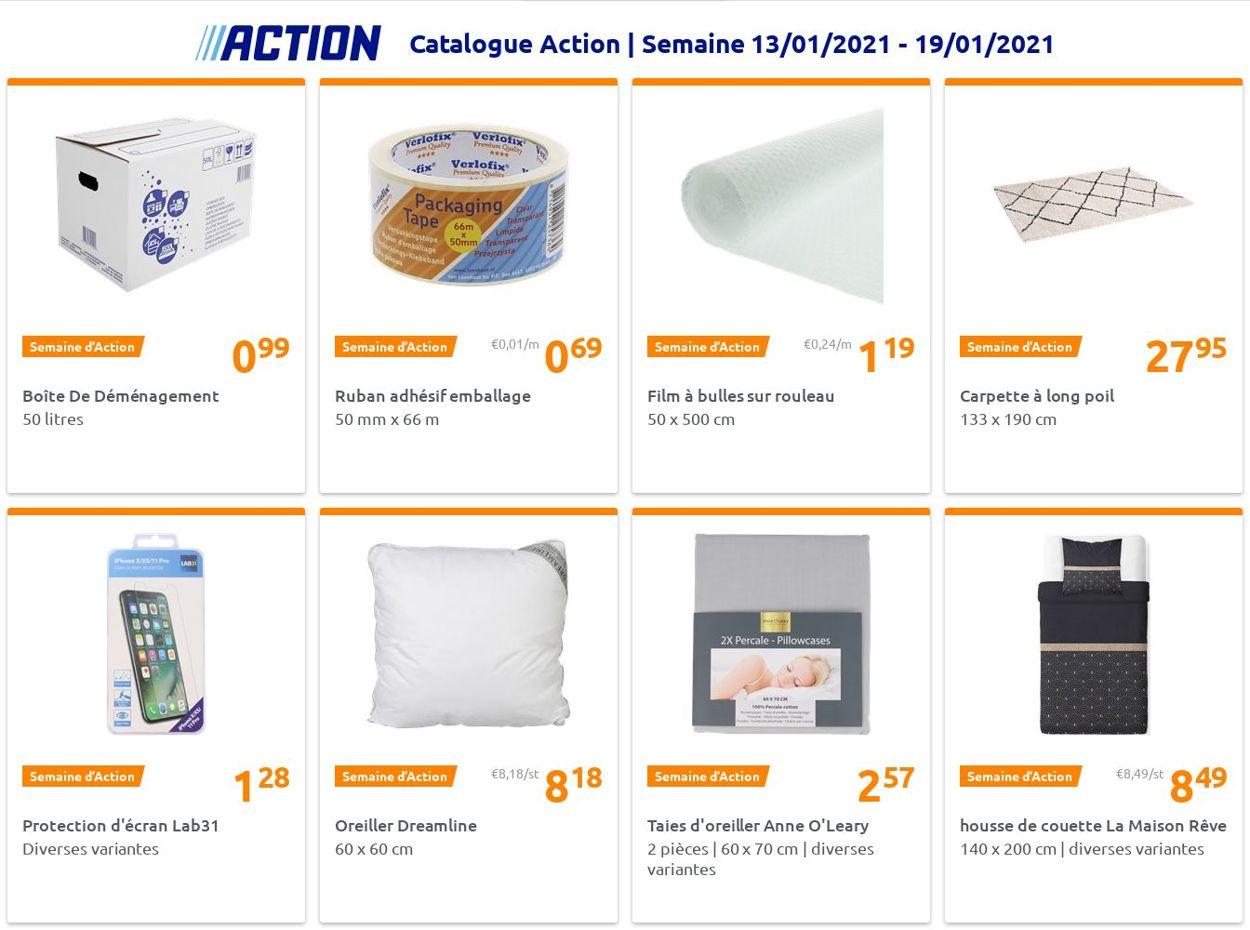 Action Catalogue - 13.01-19.01.2021