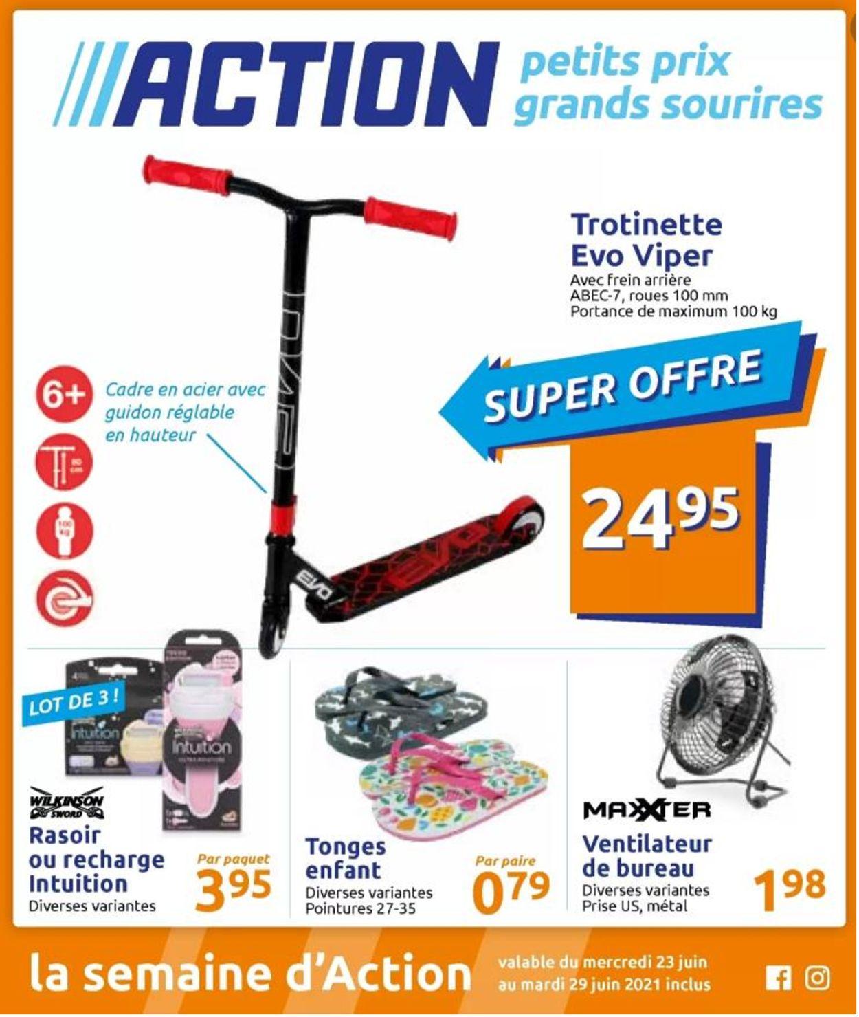 Action Catalogue - 23.06-29.06.2021