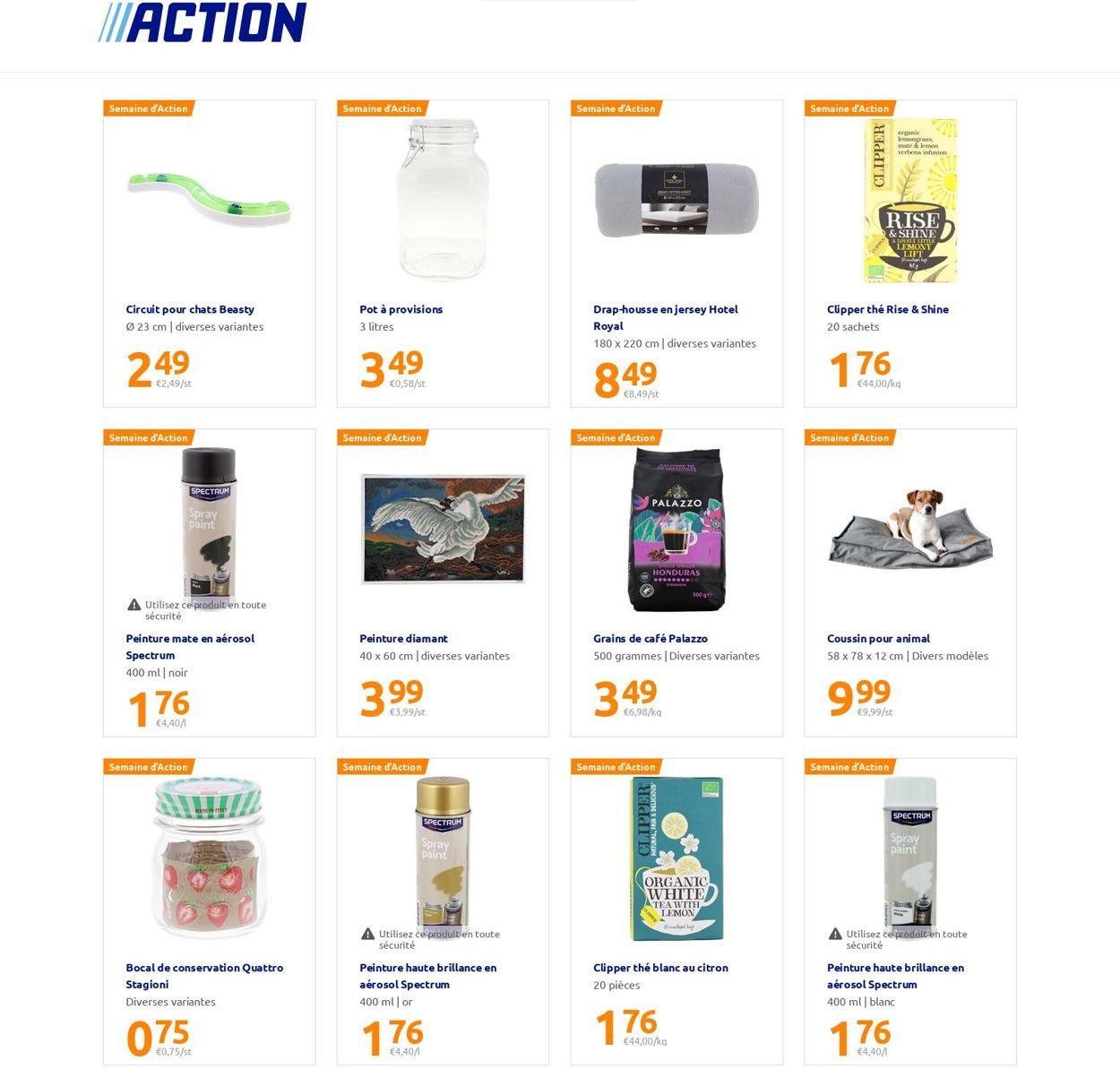 Action Catalogue - 22.09-28.09.2021