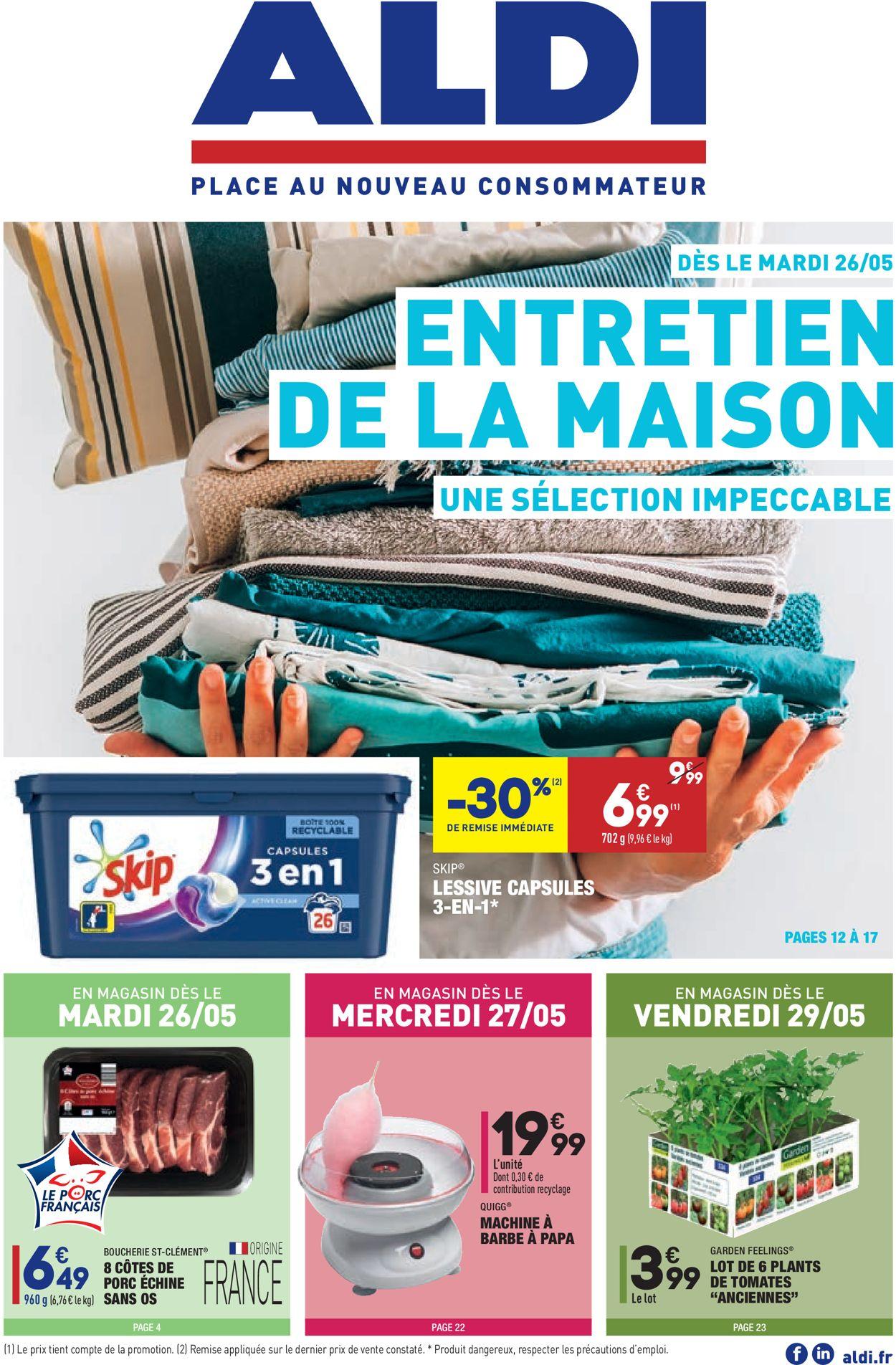 Aldi Catalogue - 26.05-01.06.2020