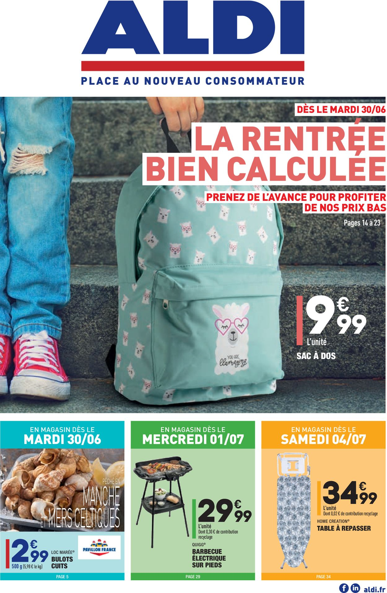 Aldi Catalogue - 30.06-06.07.2020