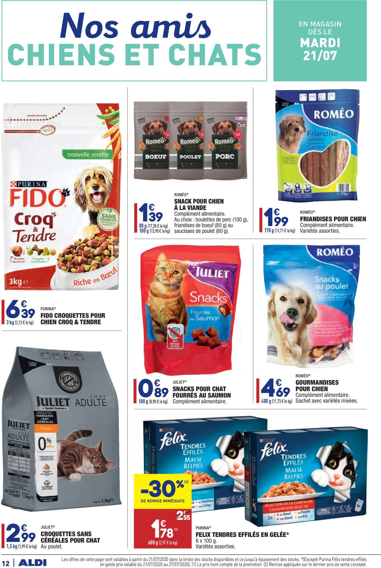 Aldi Catalogue - 21.07-28.07.2020 (Page 12)