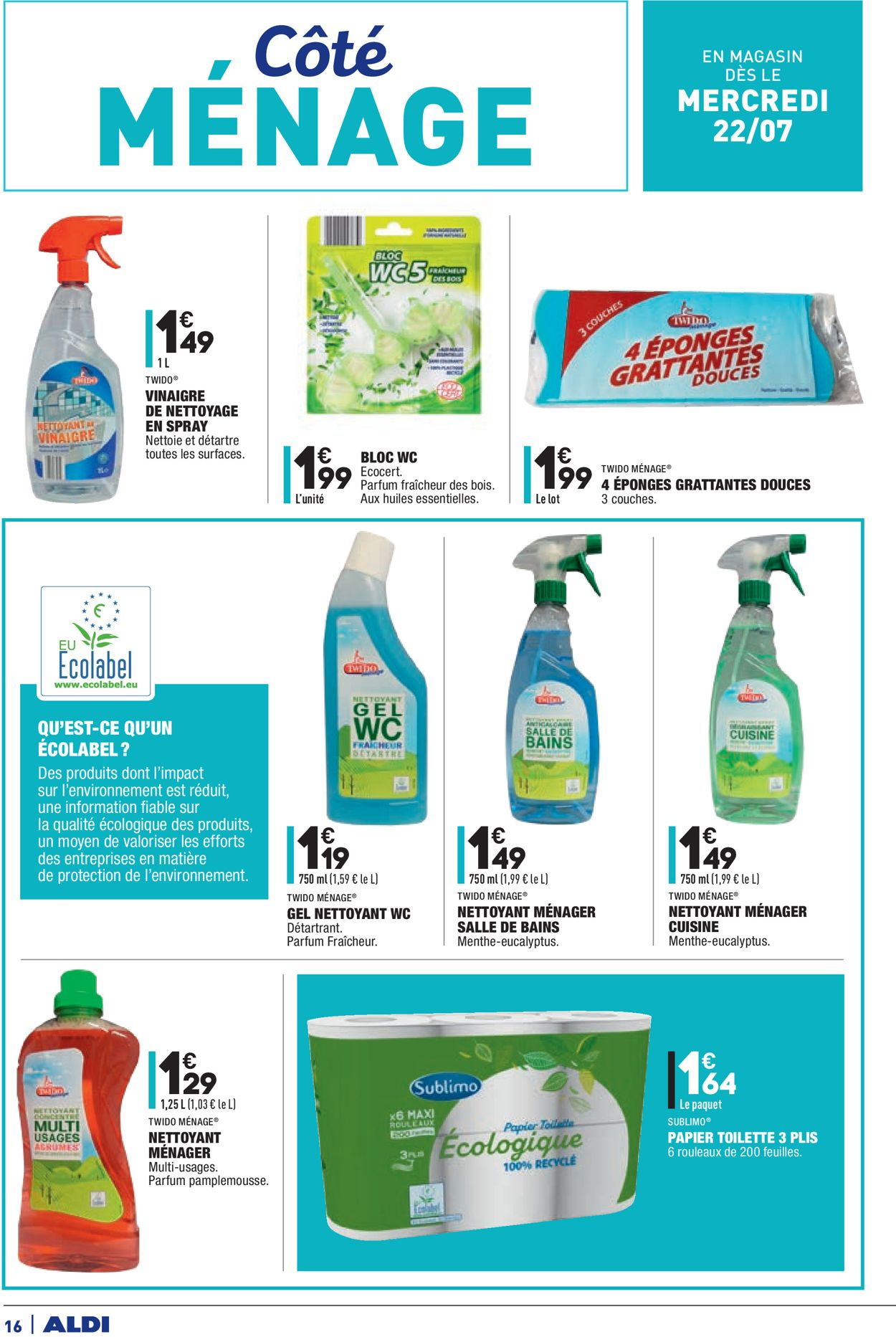 Aldi Catalogue - 21.07-28.07.2020 (Page 16)