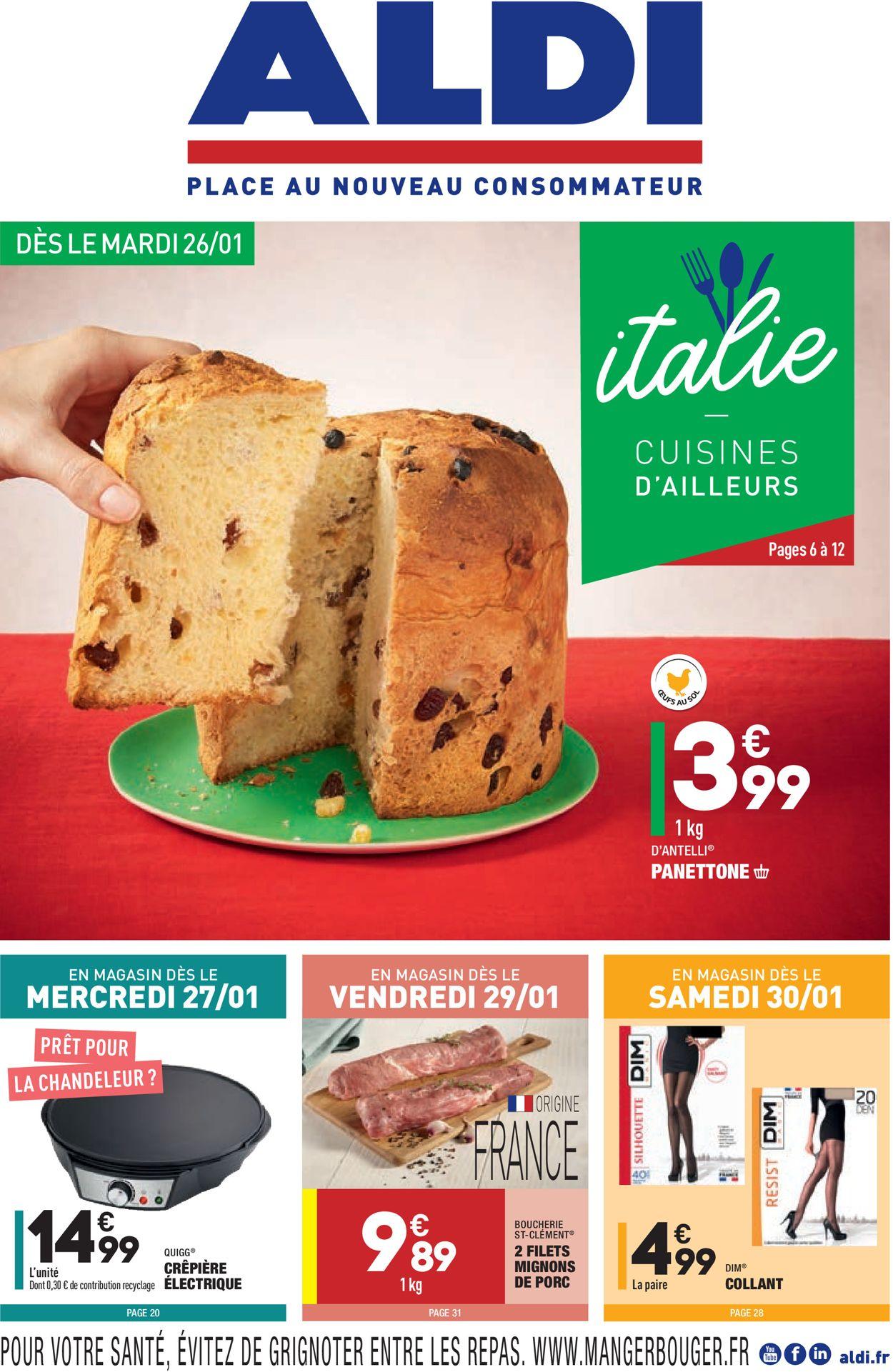 Aldi Catalogue - 26.01-01.02.2021