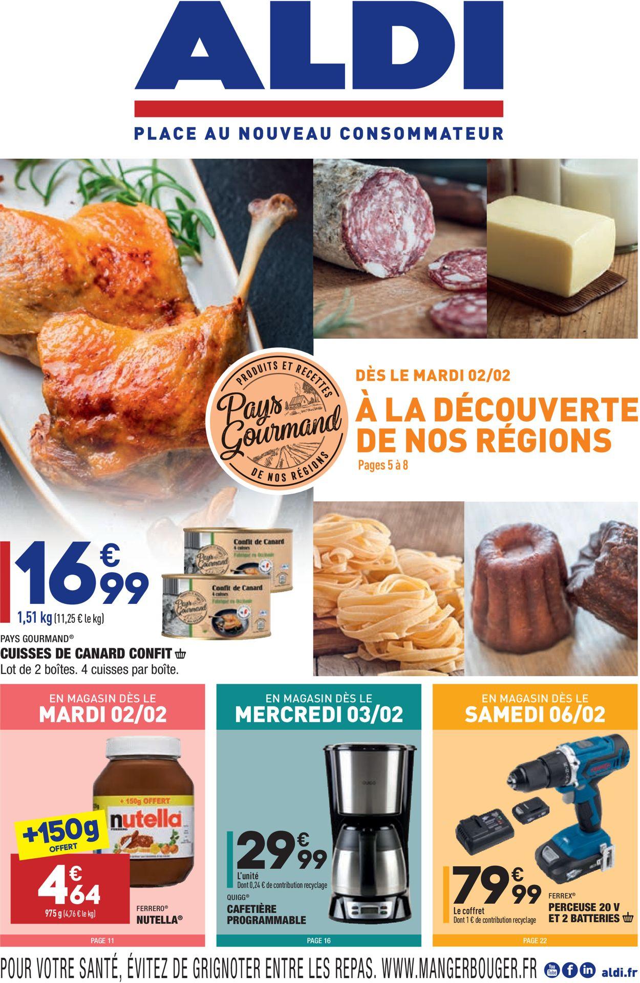 Aldi À La Découverte De Nos Régions 2021 Catalogue - 02.02-08.02.2021