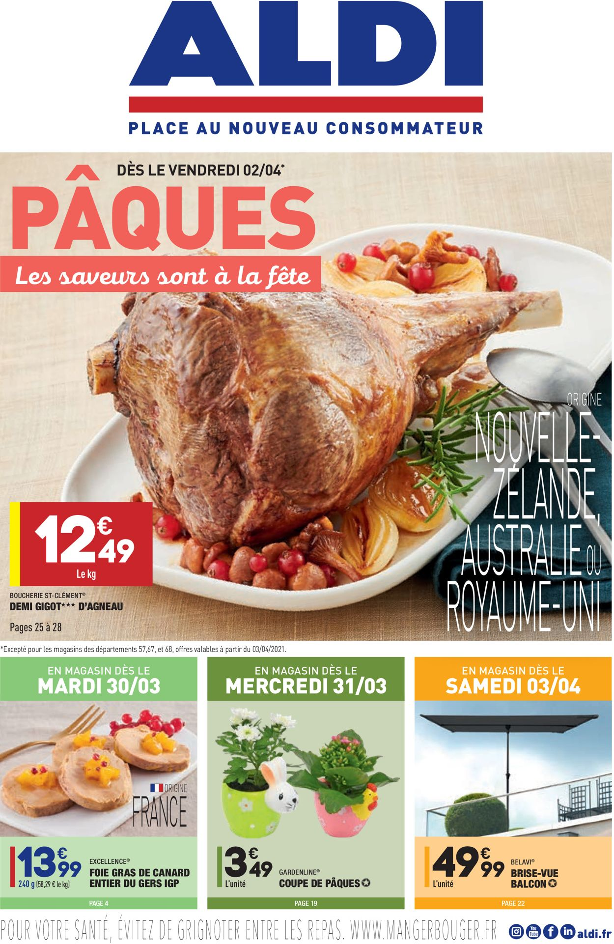 Aldi Catalogue - 30.03-04.04.2021