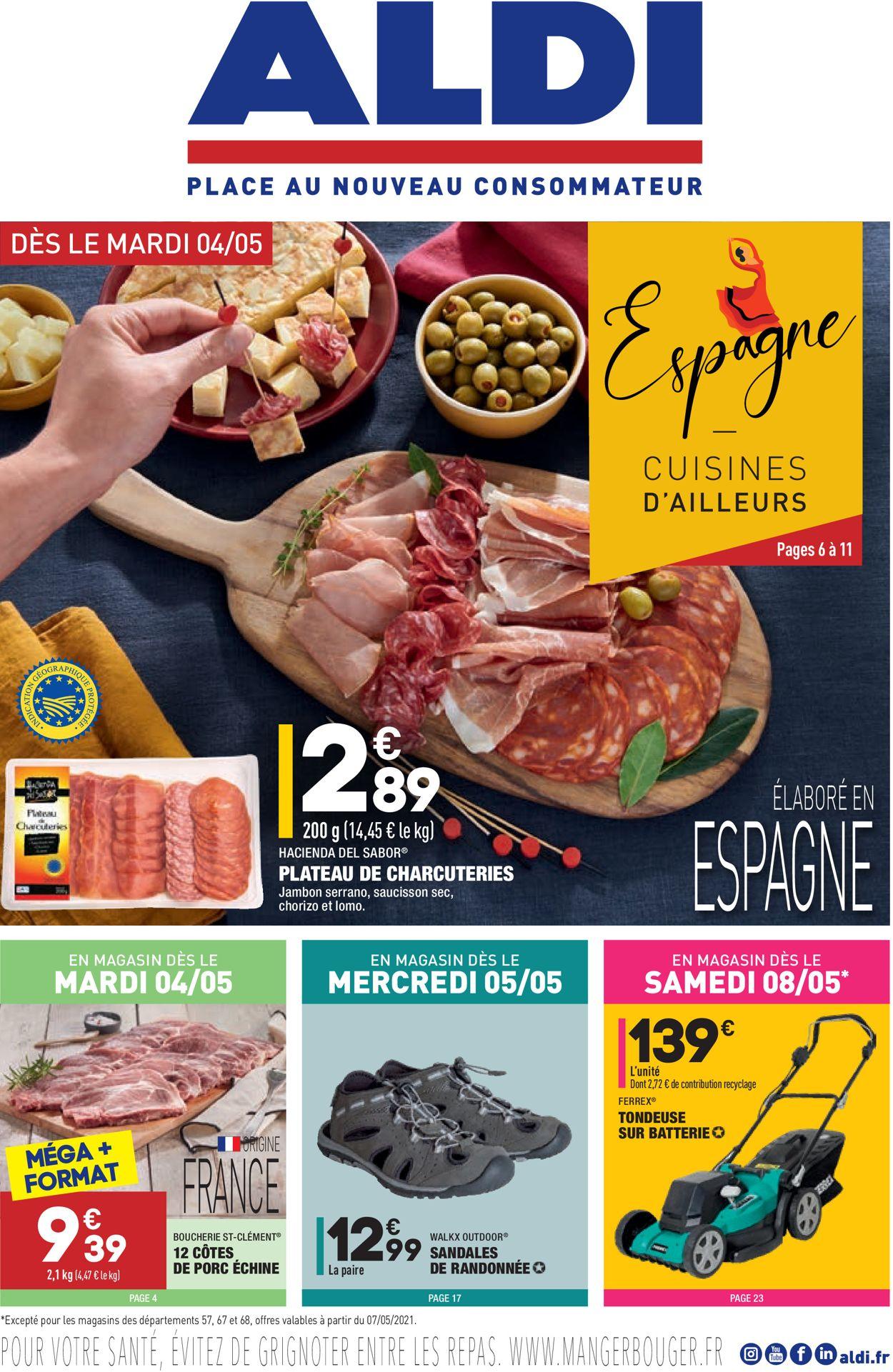 Aldi Catalogue - 07.05-10.05.2021