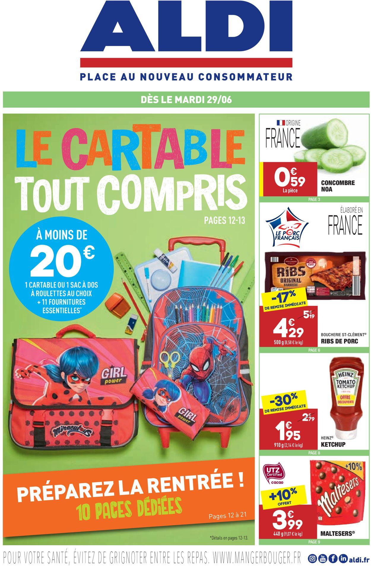 Aldi Catalogue - 29.06-05.07.2021