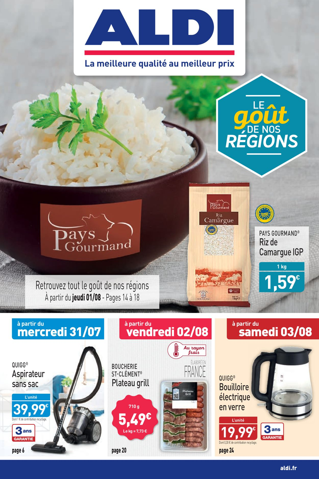 Aldi Catalogue - 29.07-04.08.2019