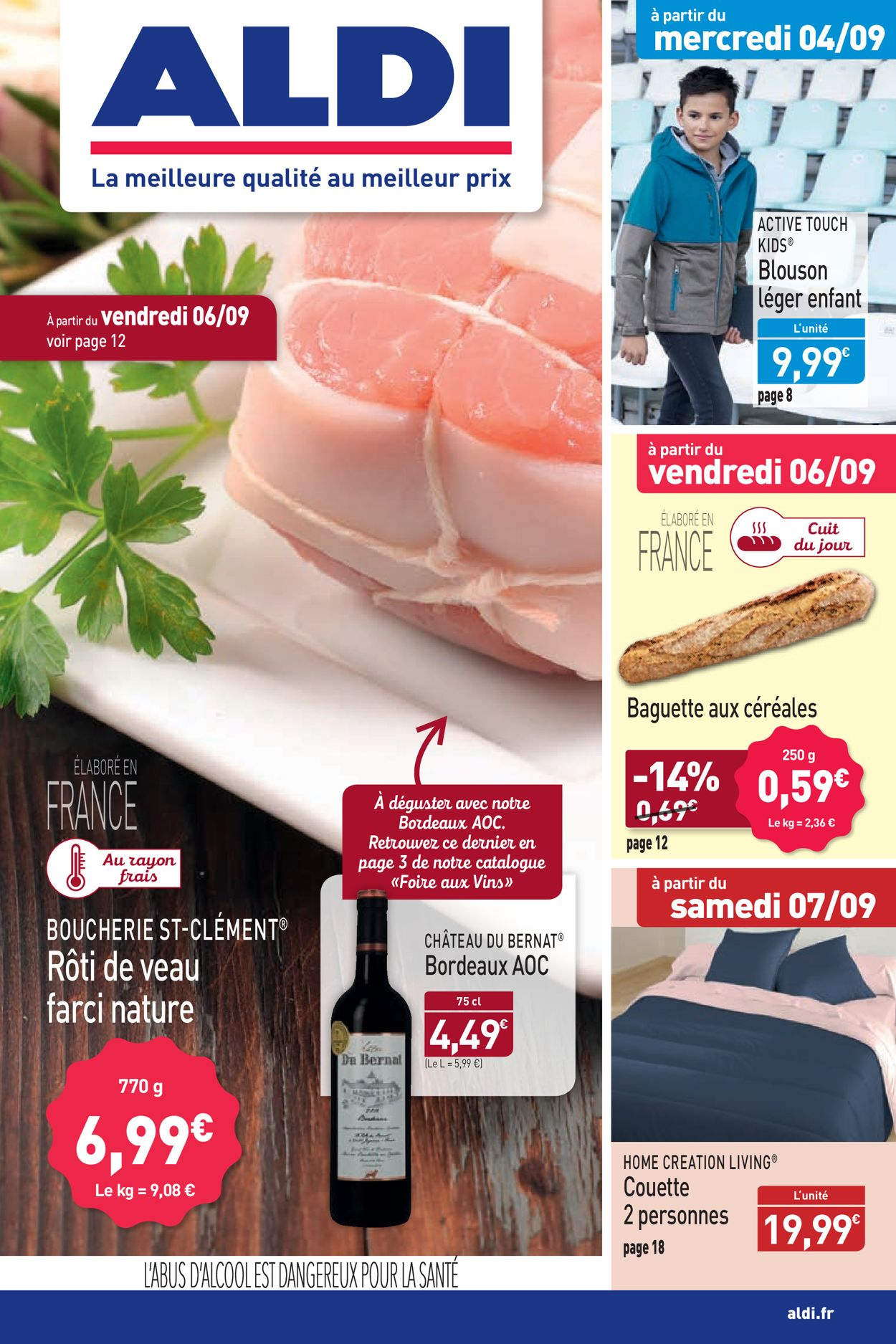Aldi Catalogue - 02.09-08.09.2019