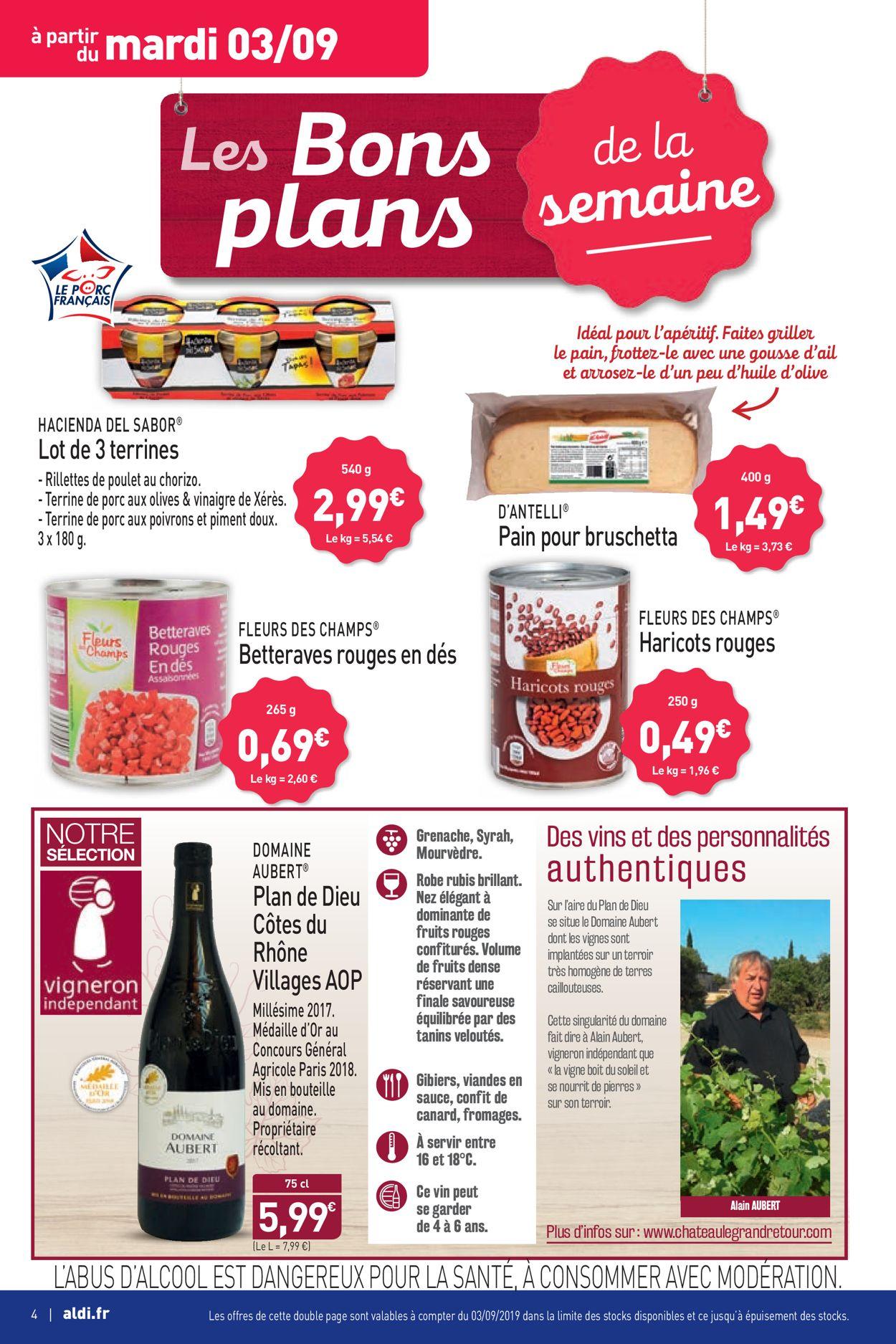 Aldi Catalogue - 02.09-08.09.2019 (Page 4)