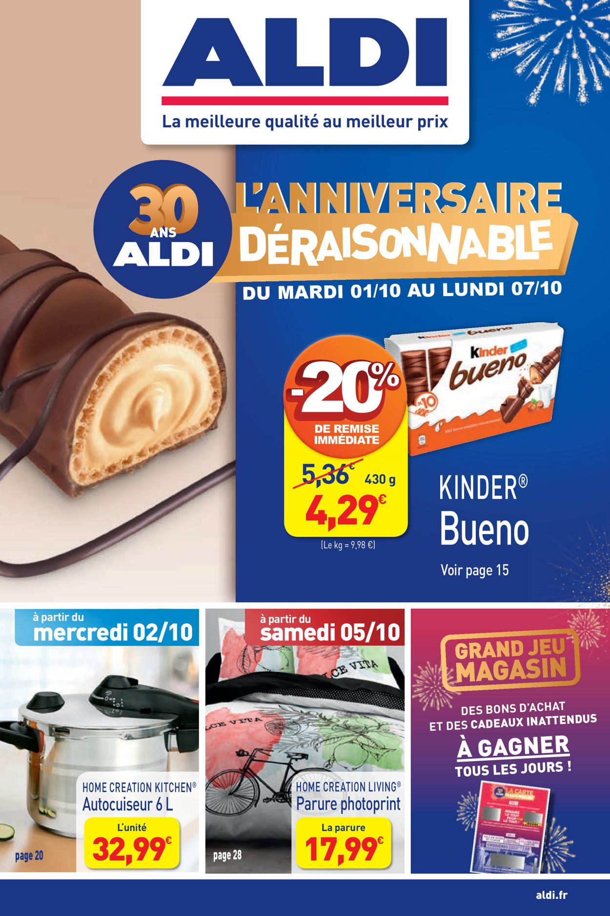 Aldi Catalogue - 01.10-07.10.2019