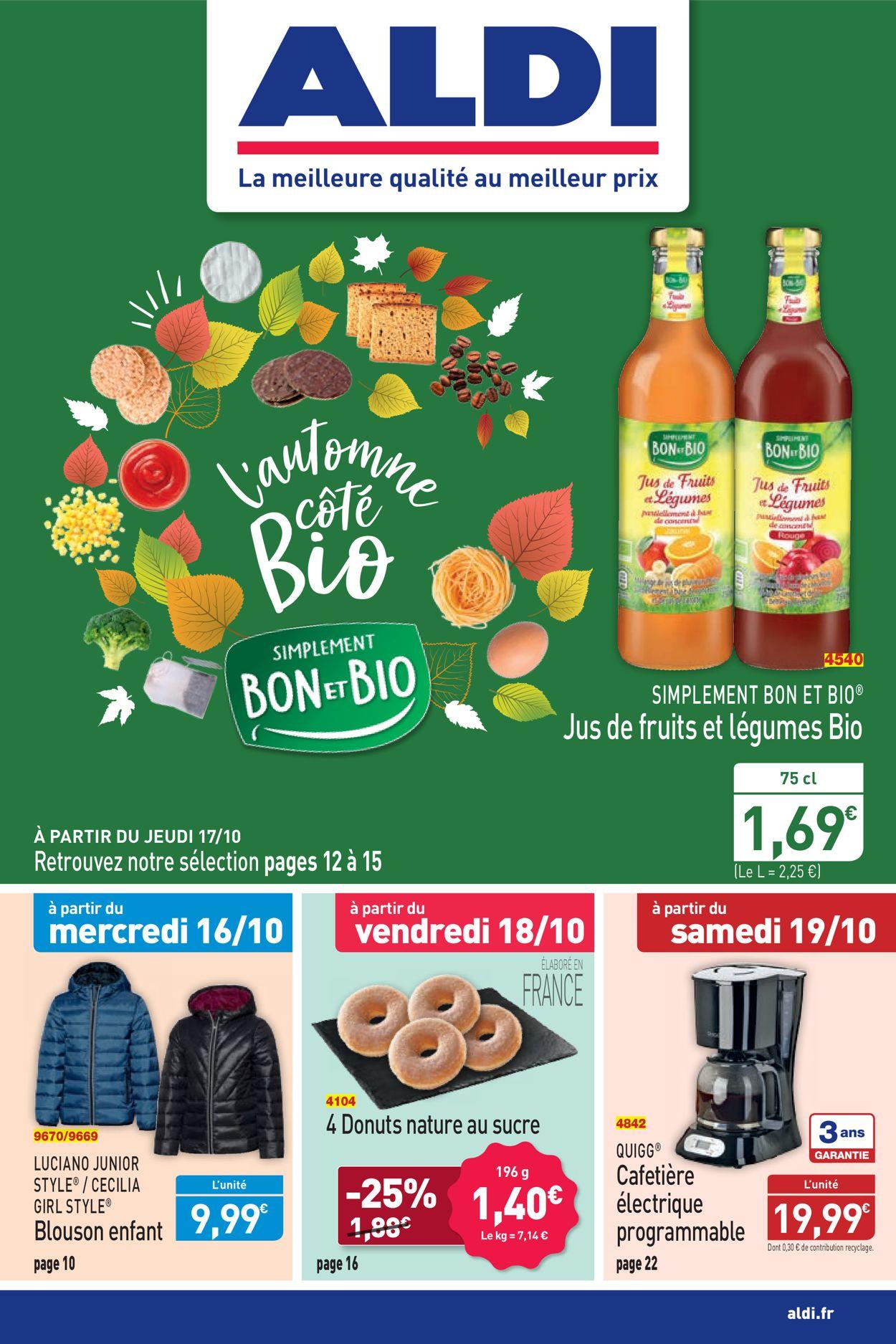 Aldi Catalogue - 14.10-21.10.2019