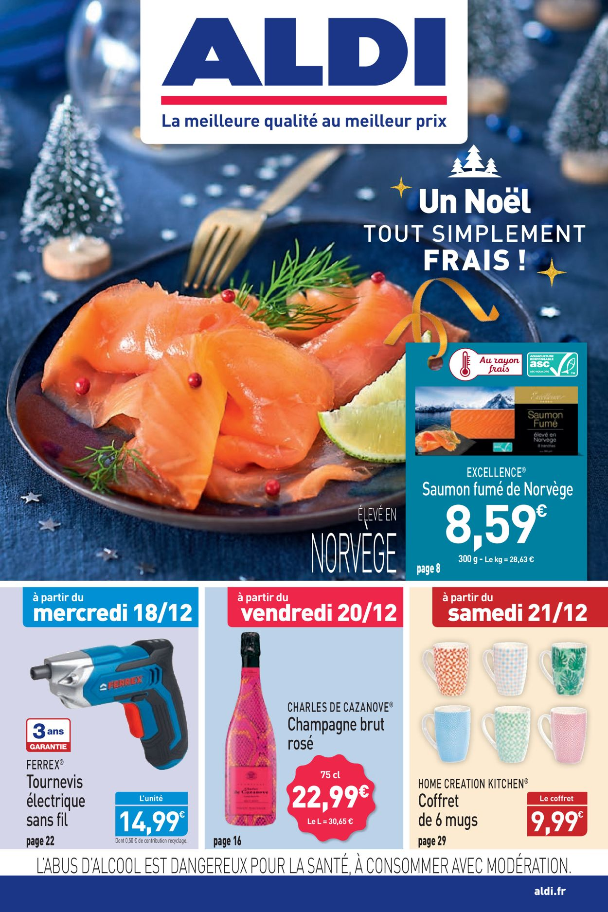 Aldi catalogue de Noël 2019 Catalogue - 16.12-22.12.2019