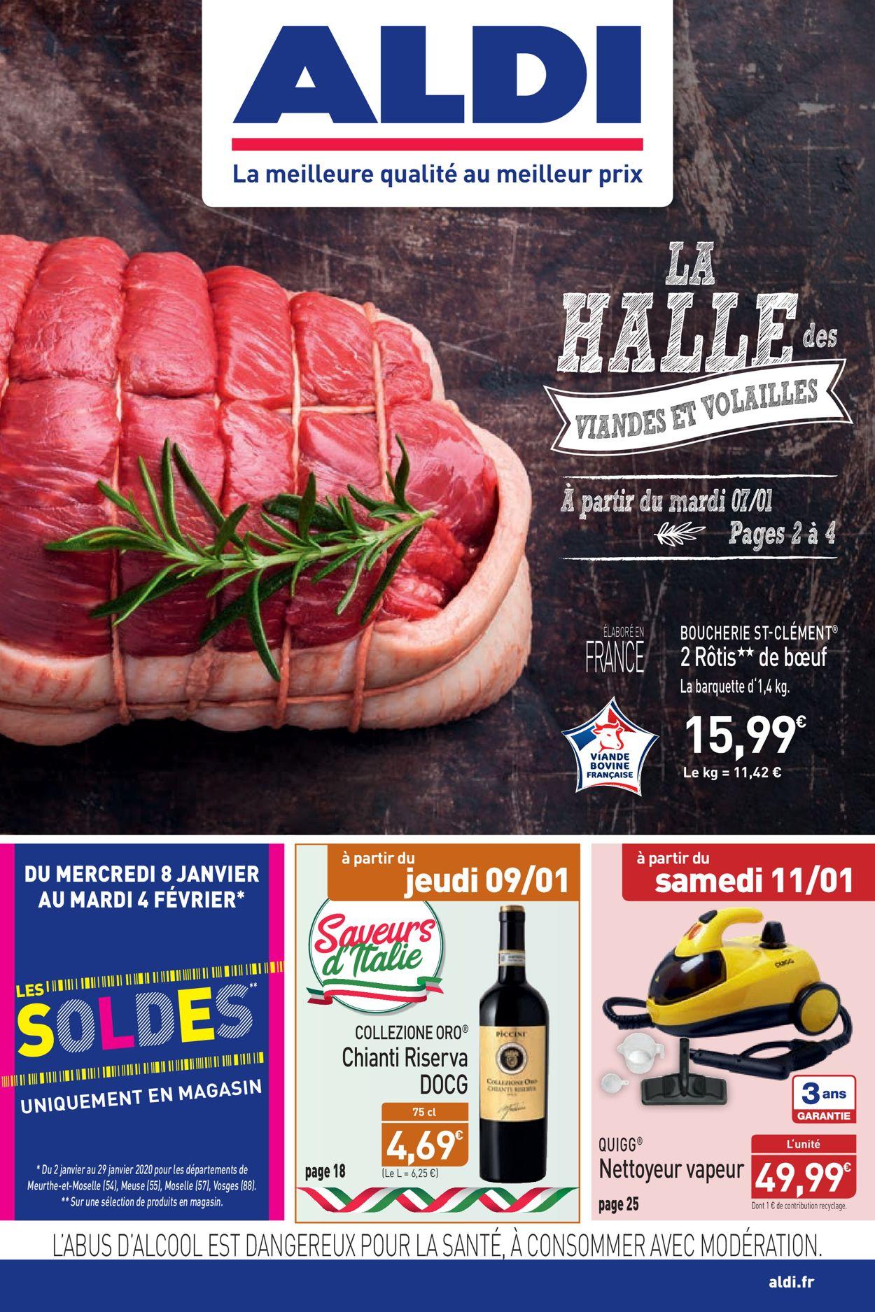 Aldi Catalogue - 06.01-13.01.2020