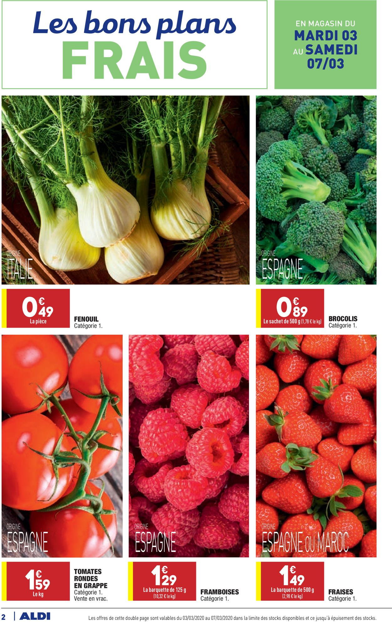Aldi Catalogue - 02.03-09.03.2020 (Page 2)
