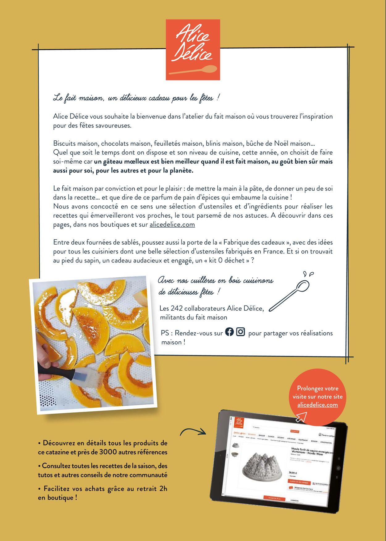 Alice Délice Catalogue - 01.11-31.12.2019 (Page 2)