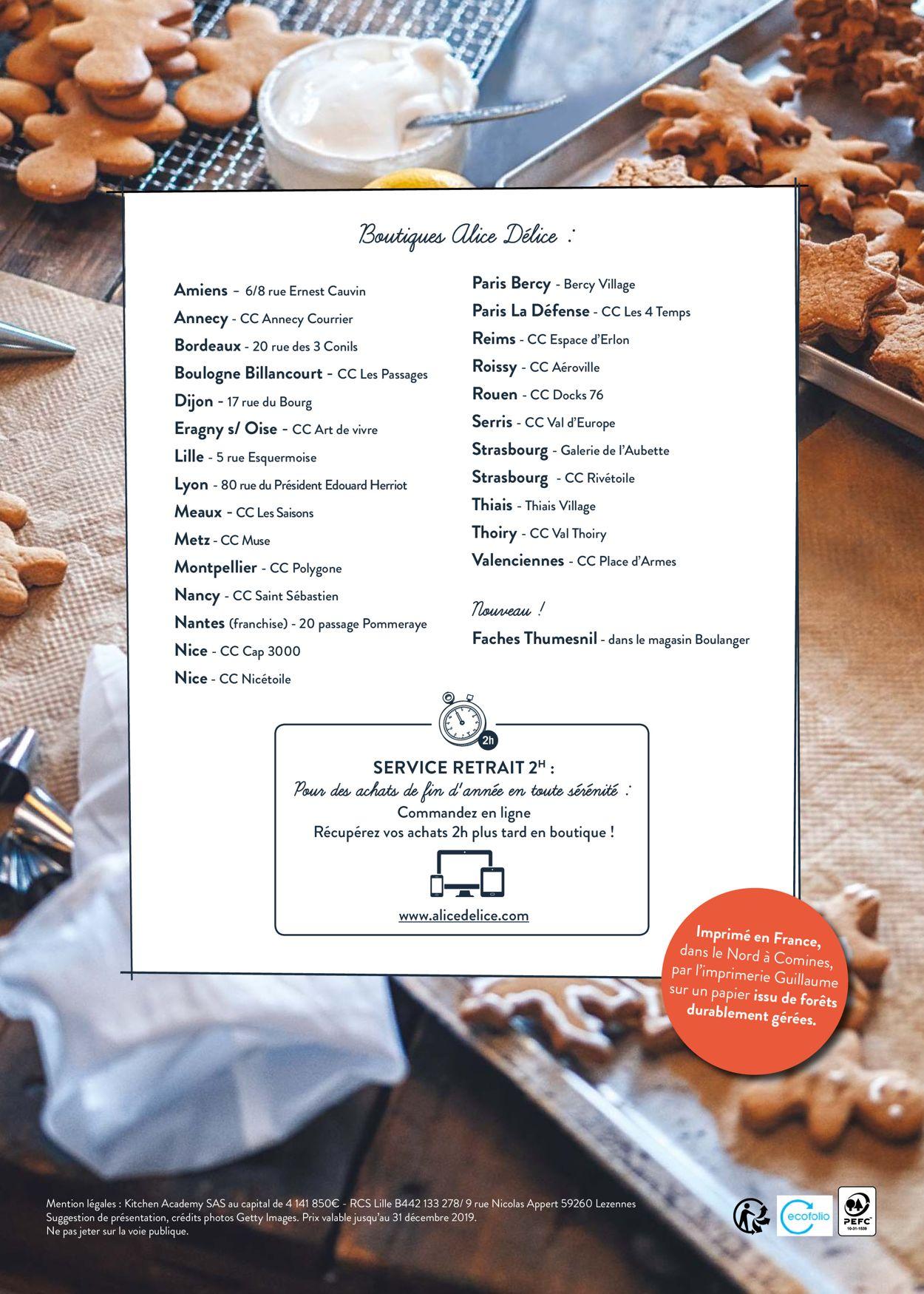 Alice Délice Catalogue - 01.11-31.12.2019 (Page 32)