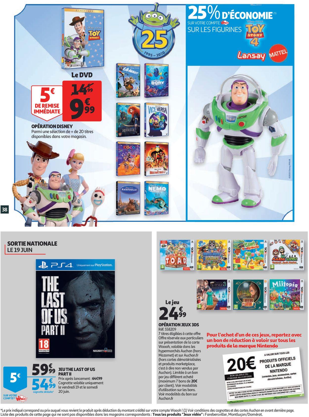 Auchan Catalogue - 17.06-23.06.2020 (Page 38)