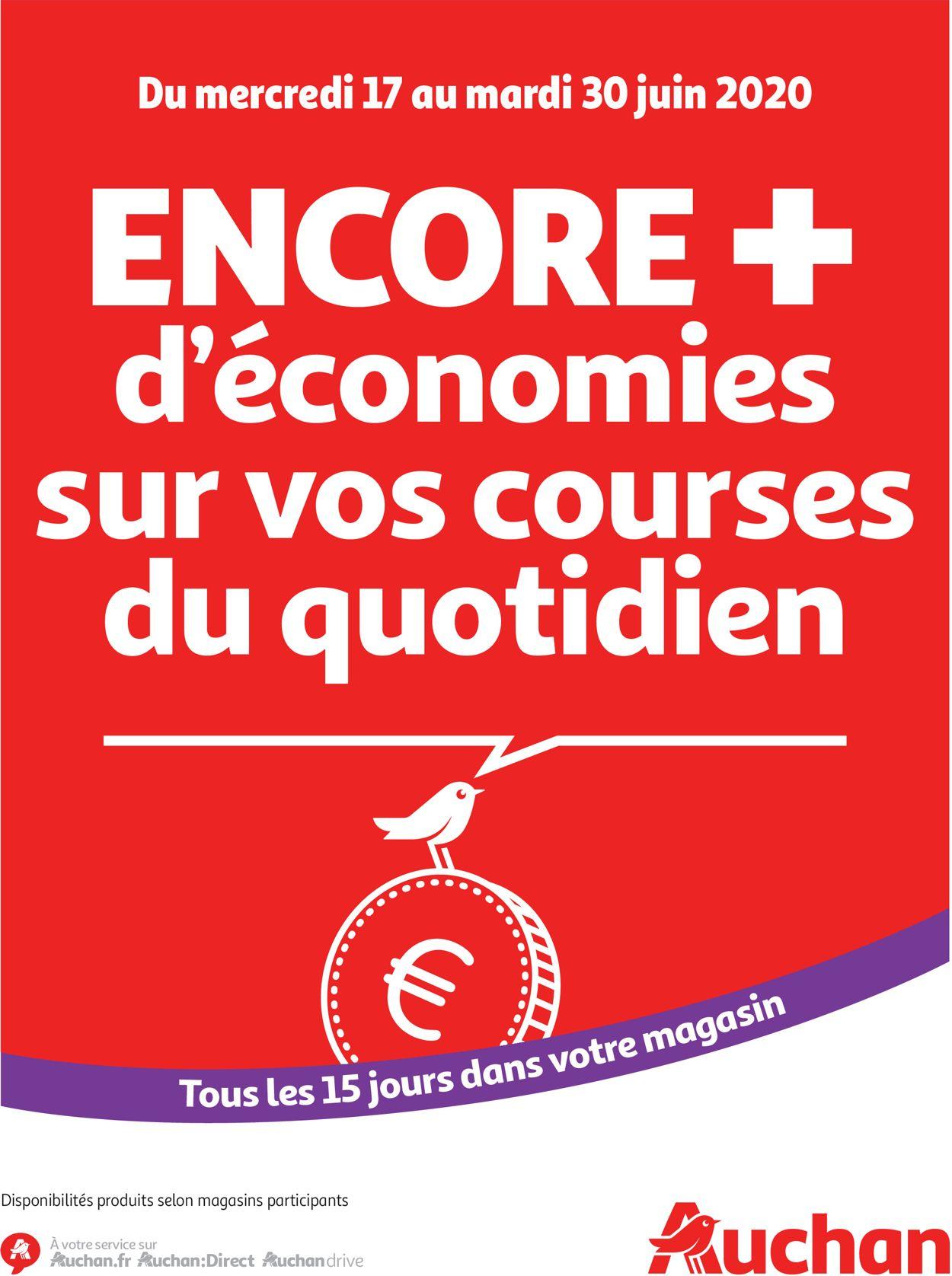 Auchan Catalogue - 17.06-30.06.2020