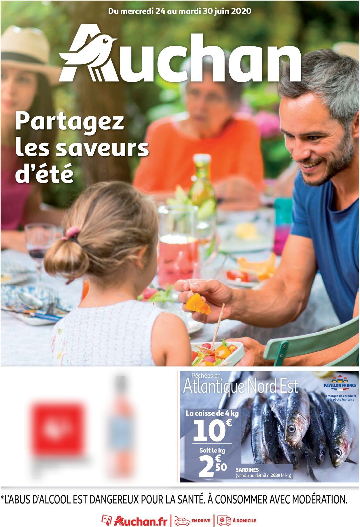 Auchan Catalogue - 24.06-30.06.2020