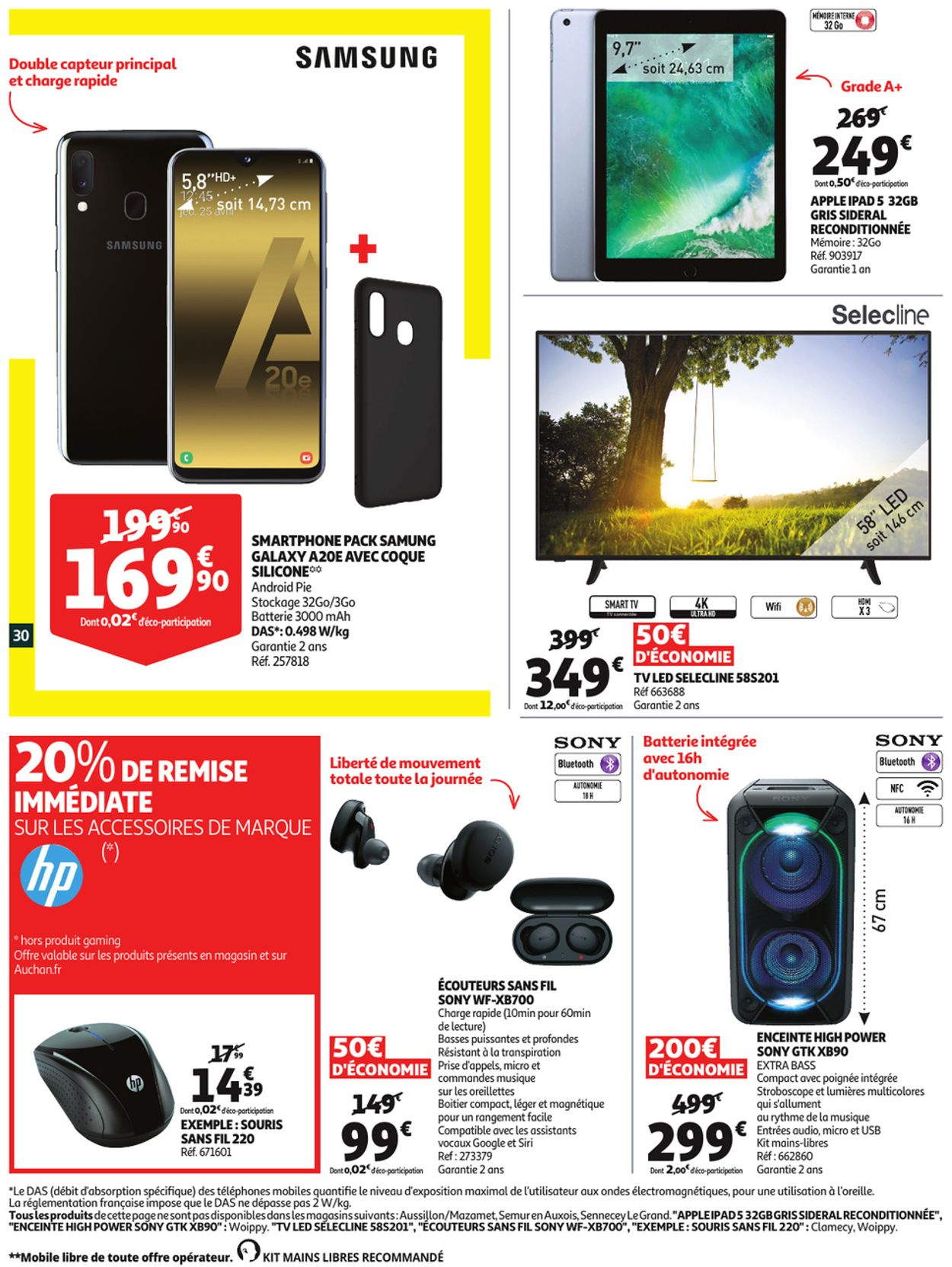 Auchan Catalogue - 01.07-07.07.2020 (Page 30)