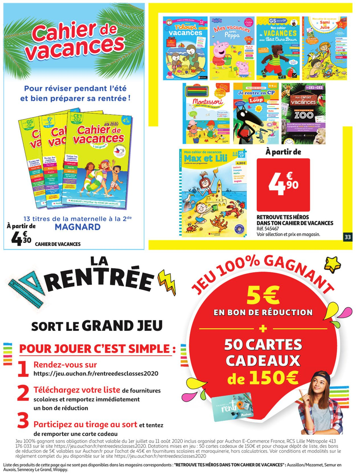 Auchan Catalogue - 01.07-07.07.2020 (Page 33)