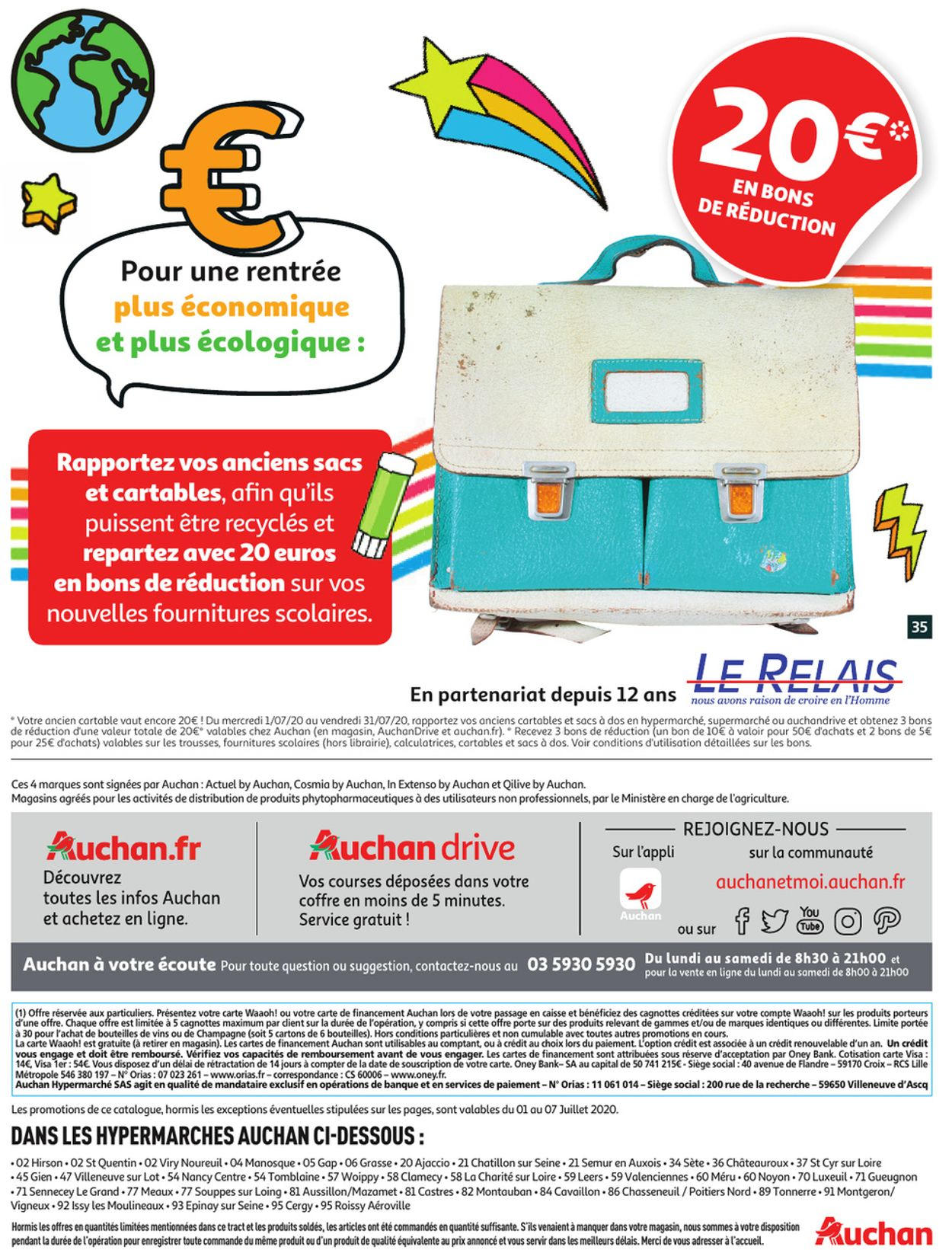 Auchan Catalogue - 01.07-07.07.2020 (Page 35)