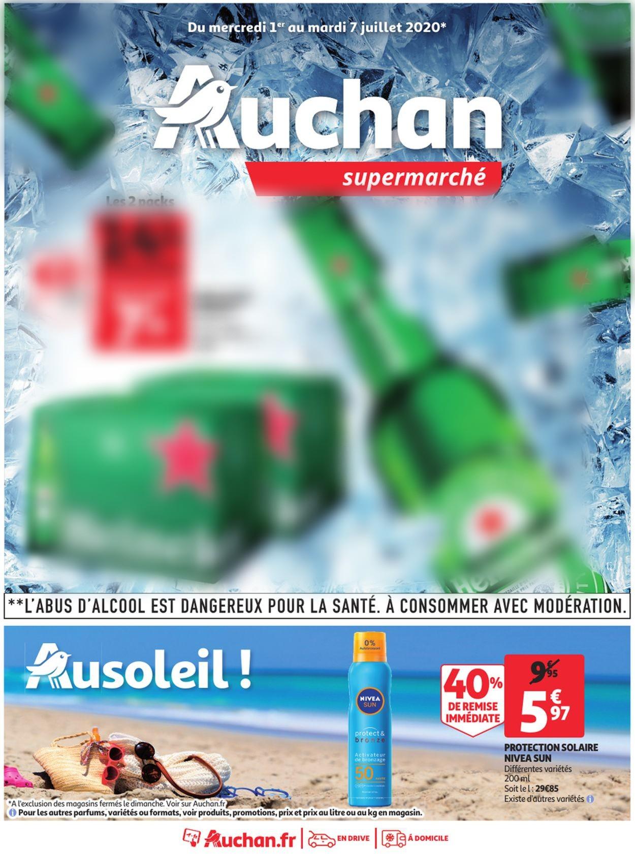 Auchan Catalogue - 01.07-07.07.2020
