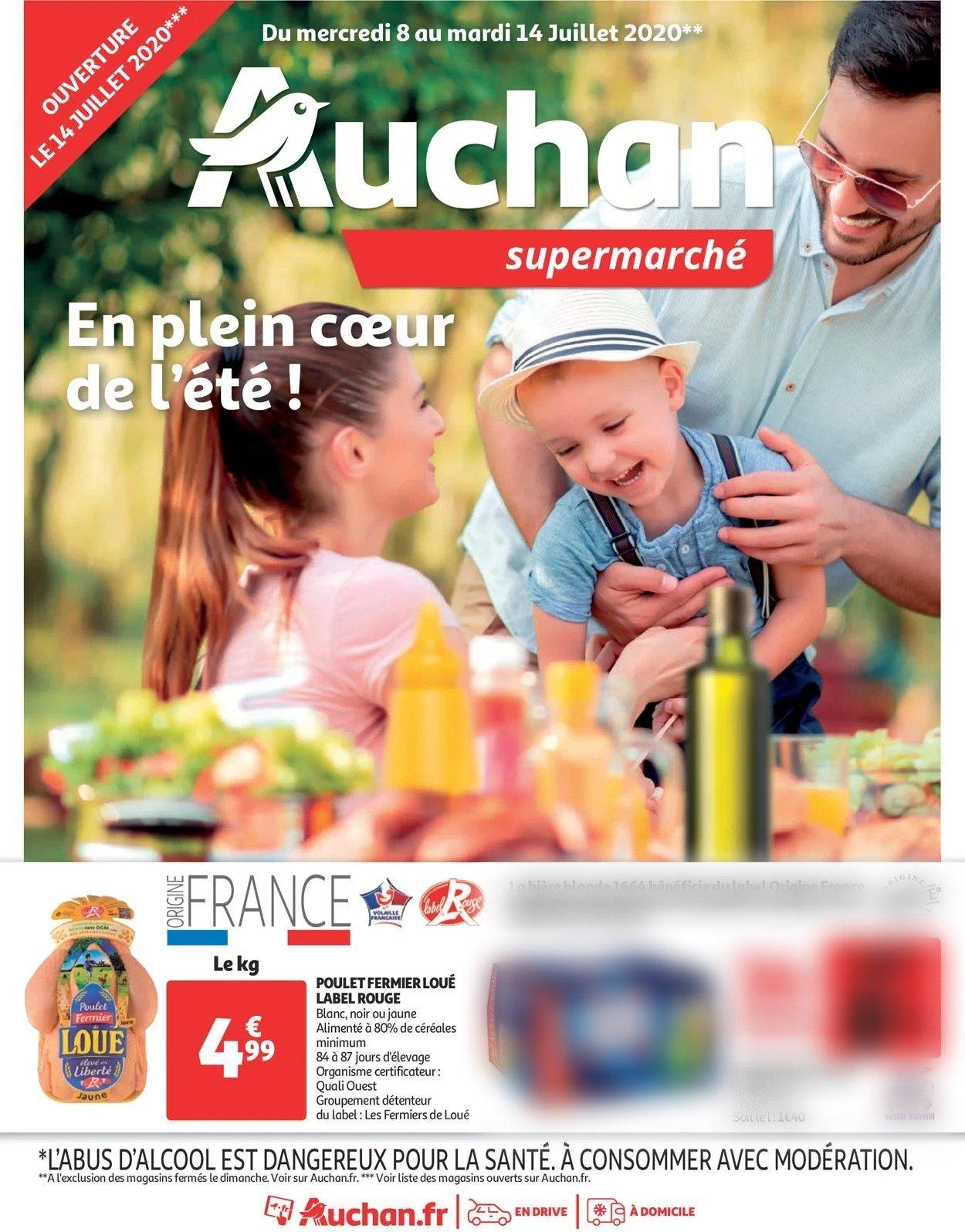 Auchan Catalogue - 08.07-14.07.2020