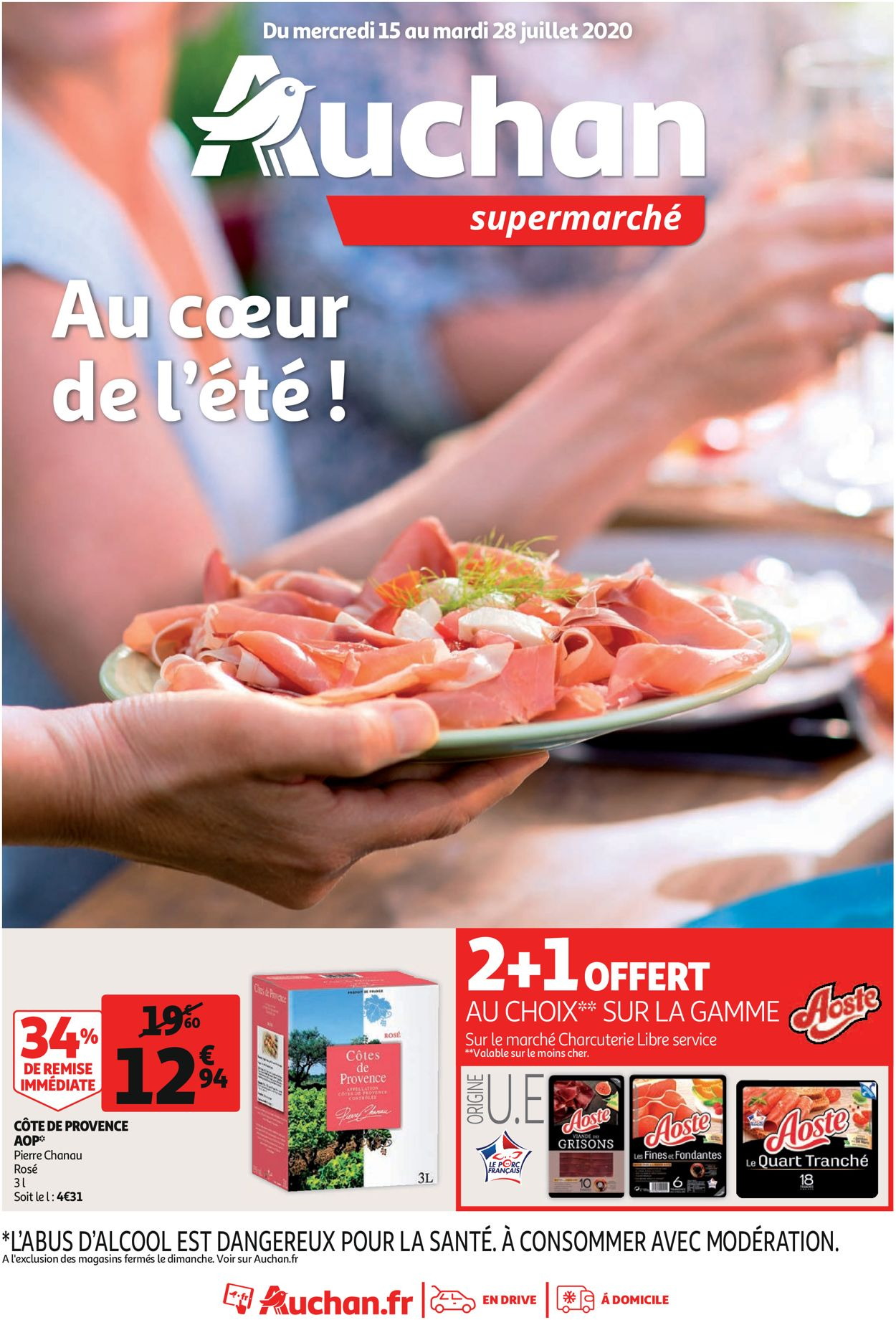 Auchan Catalogue - 15.07-28.07.2020