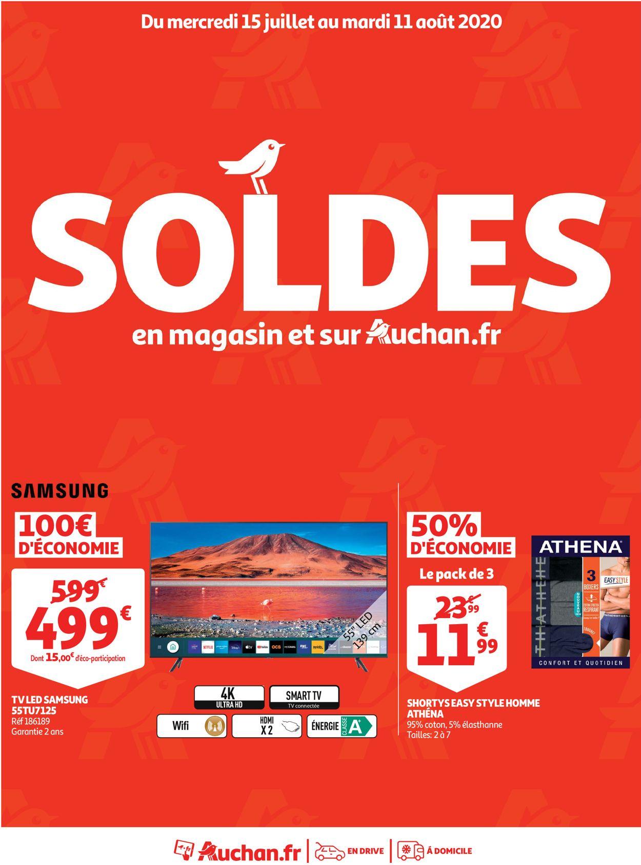 Auchan Catalogue - 15.07-11.08.2020