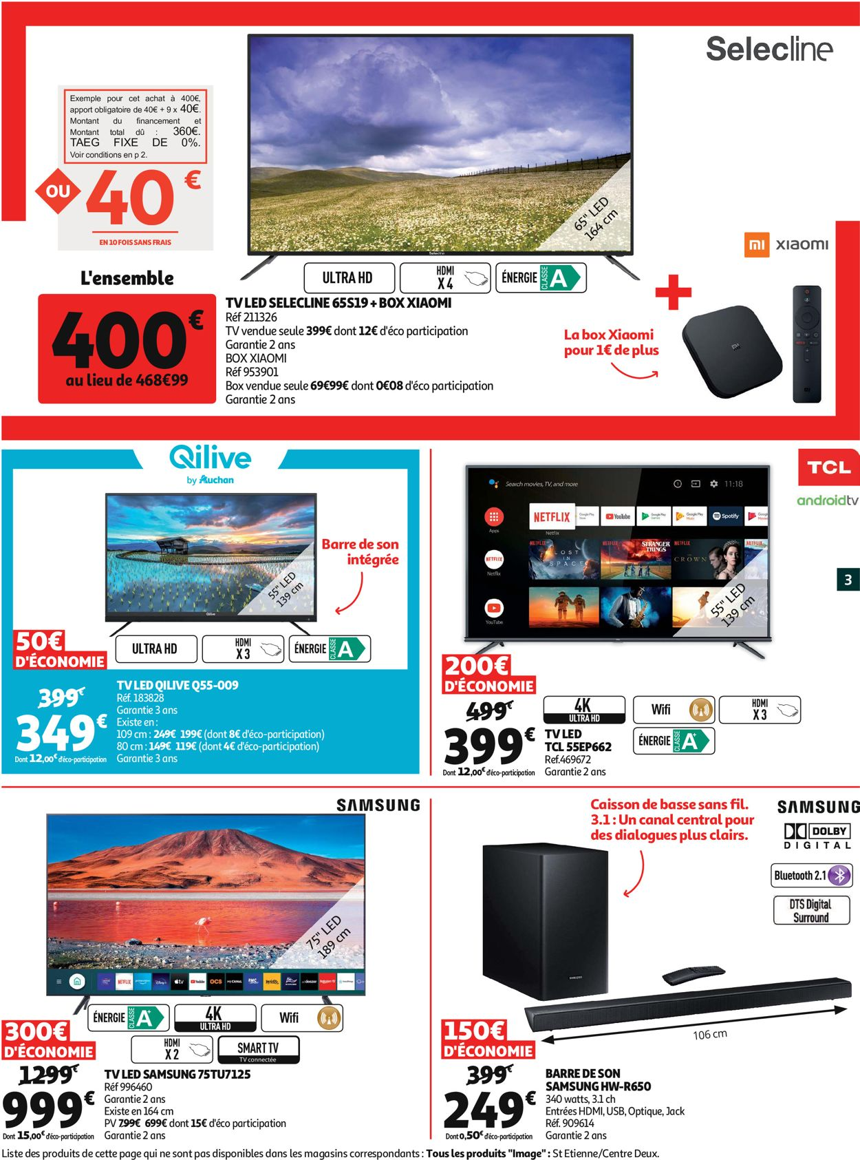 Auchan Catalogue - 15.07-11.08.2020 (Page 3)