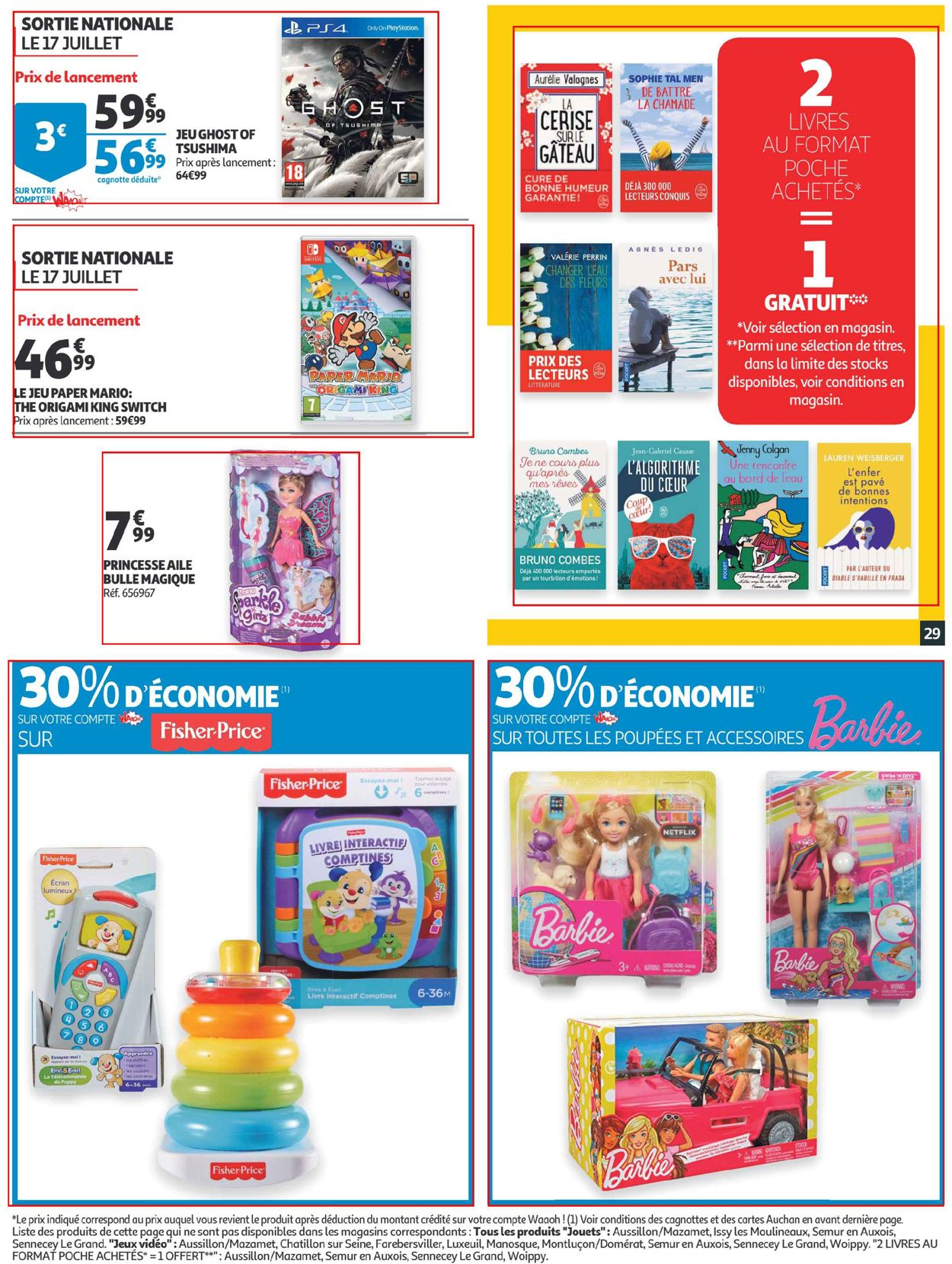 Auchan Catalogue - 15.07-21.07.2020 (Page 29)