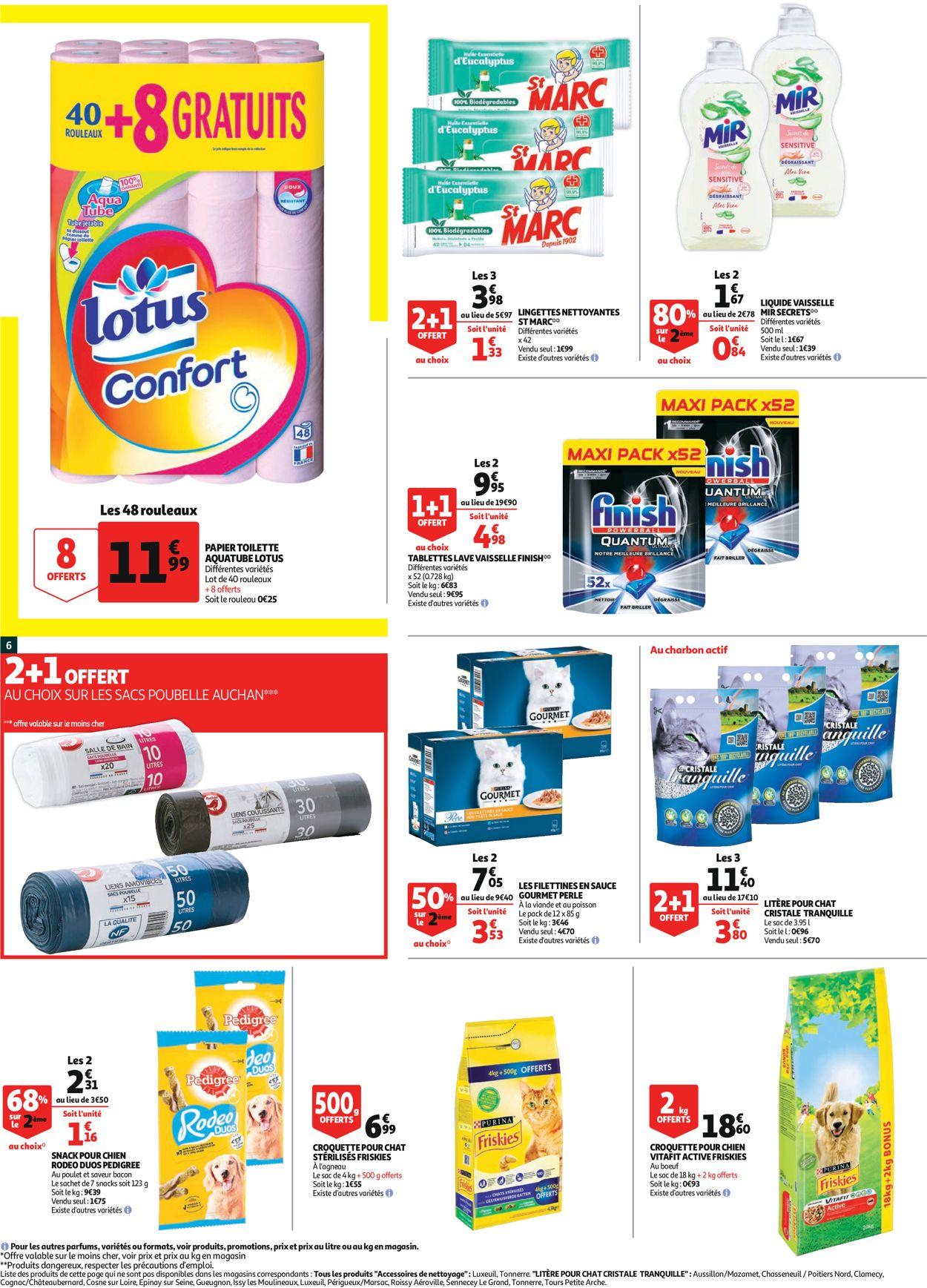 Auchan Catalogue - 29.07-09.08.2020 (Page 6)